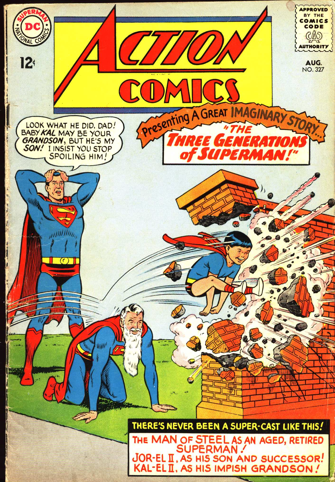Action Comics (1938) 327 Page 1