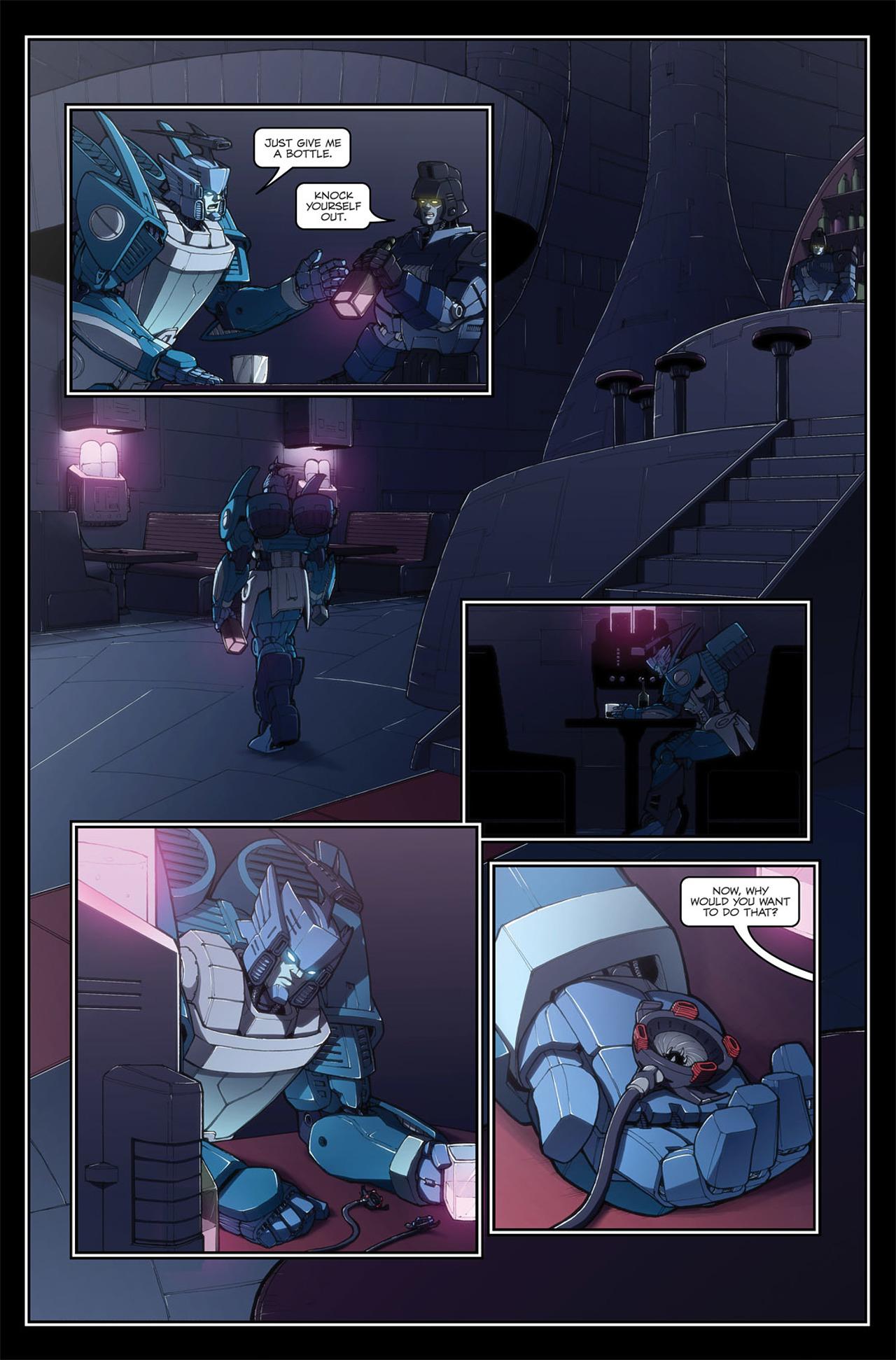 Read online Transformers Spotlight: Blurr comic -  Issue # Full - 15