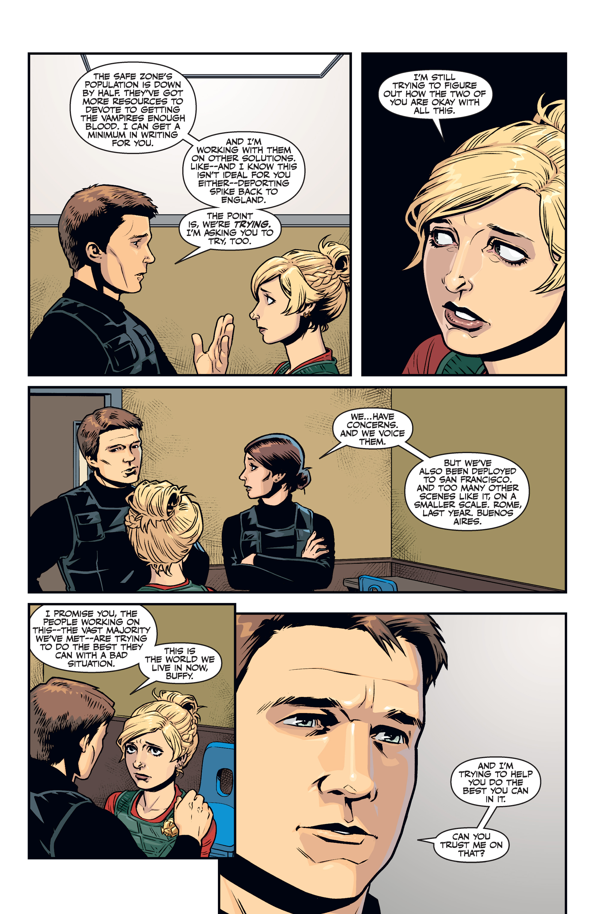 Read online Buffy the Vampire Slayer Season 11 comic -  Issue #7 - 13