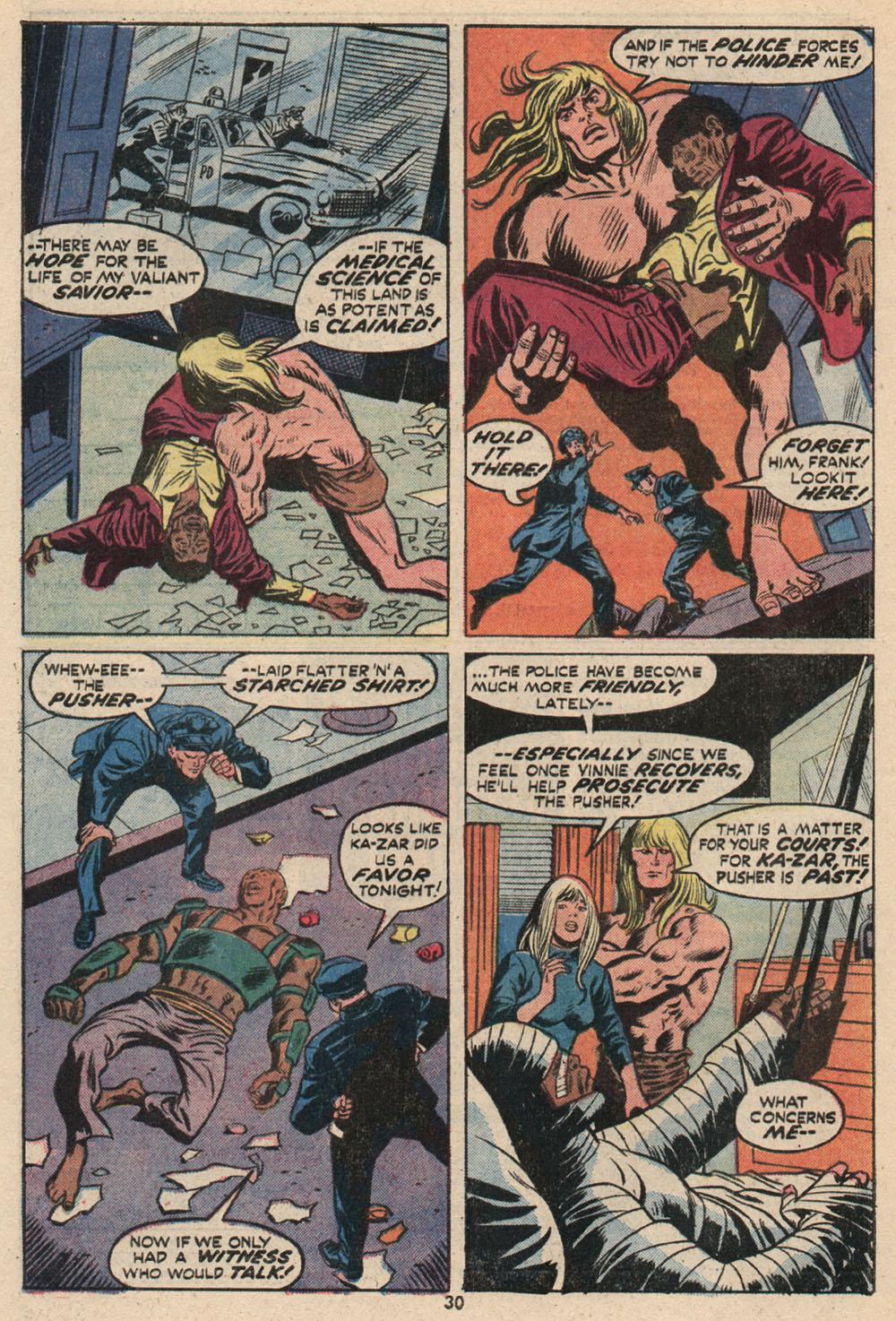 Read online Astonishing Tales (1970) comic -  Issue #16 - 21