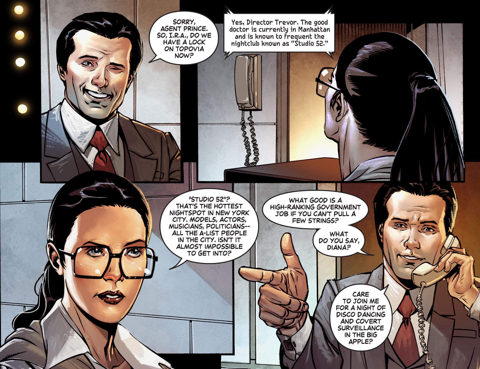 Read online Wonder Woman '77 [I] comic -  Issue #1 - 12