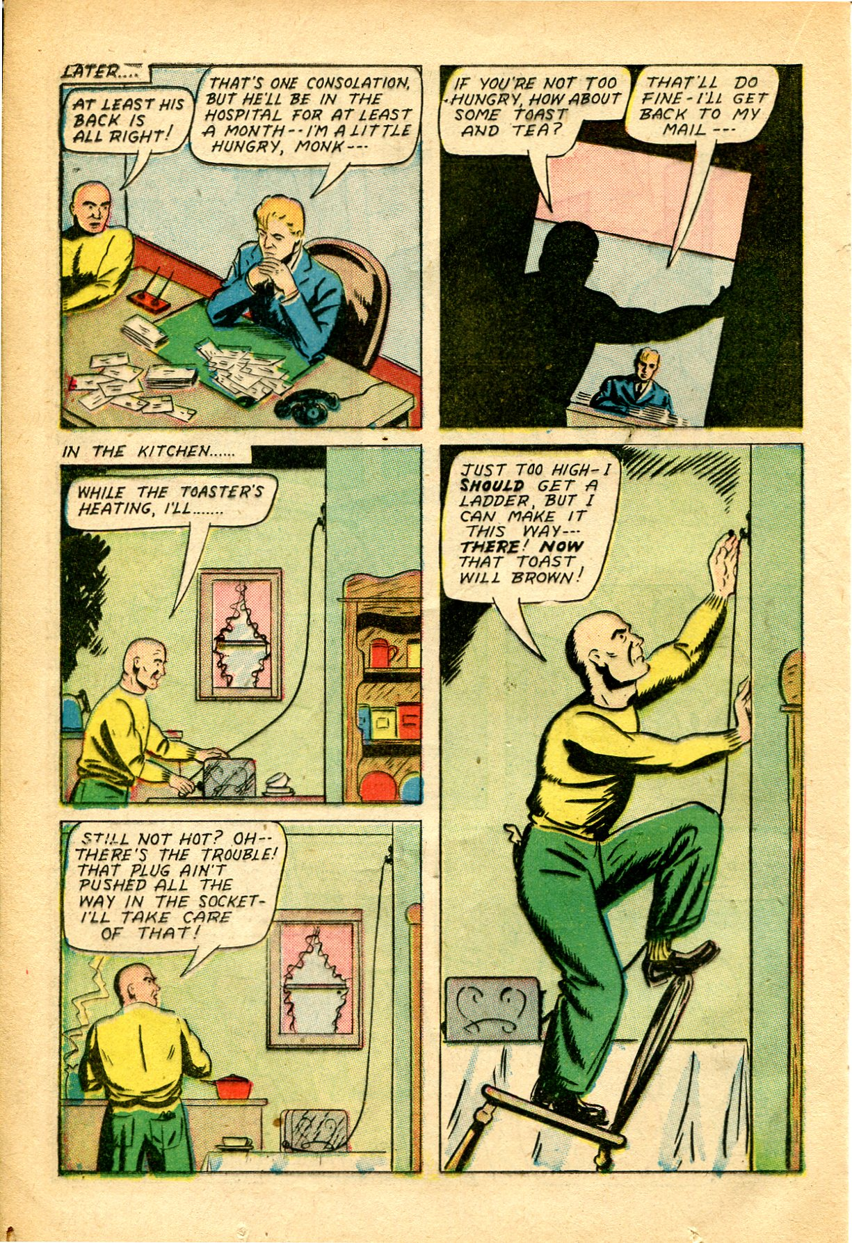 Read online Shadow Comics comic -  Issue #51 - 21
