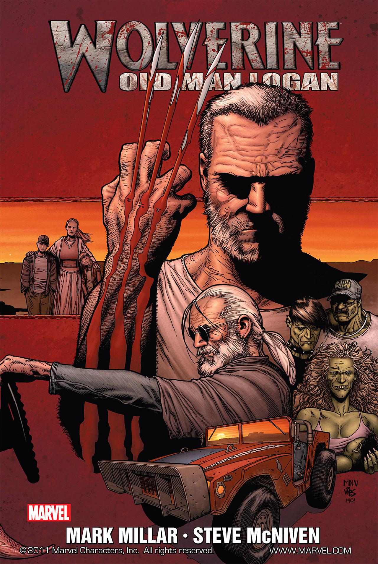 Read online Wolverine: Old Man Logan comic -  Issue # Full - 2