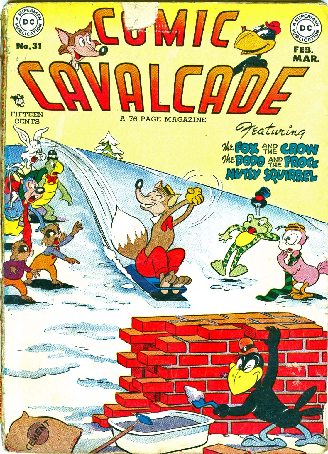 Comic Cavalcade 31 Page 1