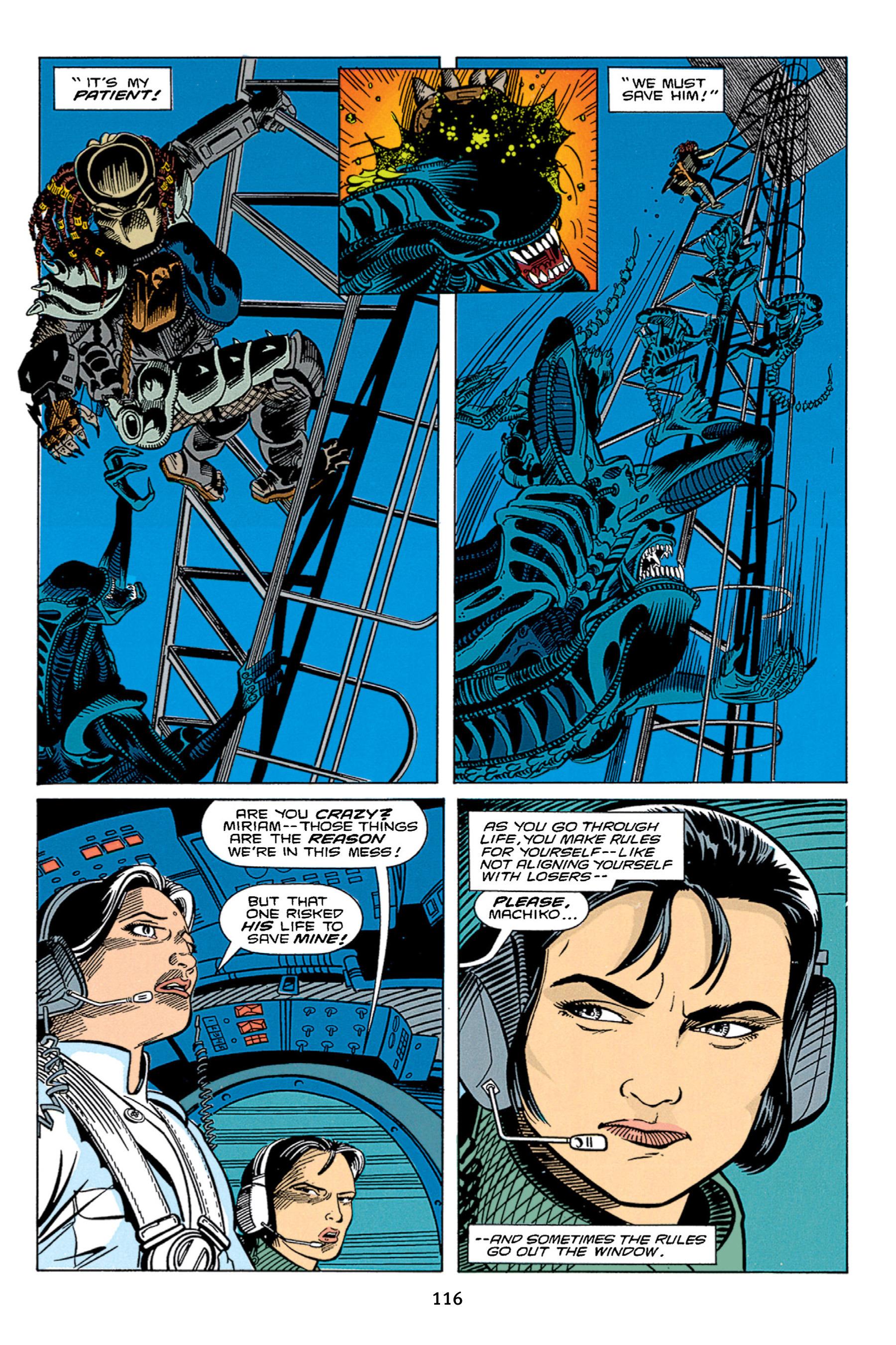 Read online Aliens vs. Predator Omnibus comic -  Issue # _TPB 1 Part 2 - 15