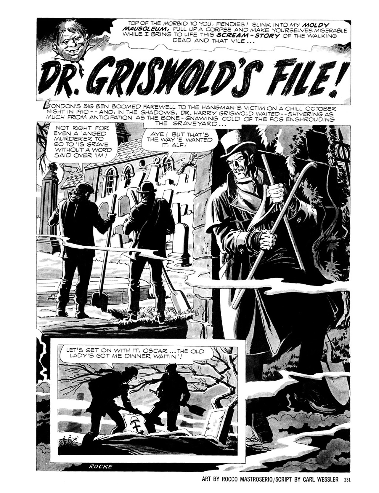 Read online Eerie Archives comic -  Issue # TPB 1 - 232