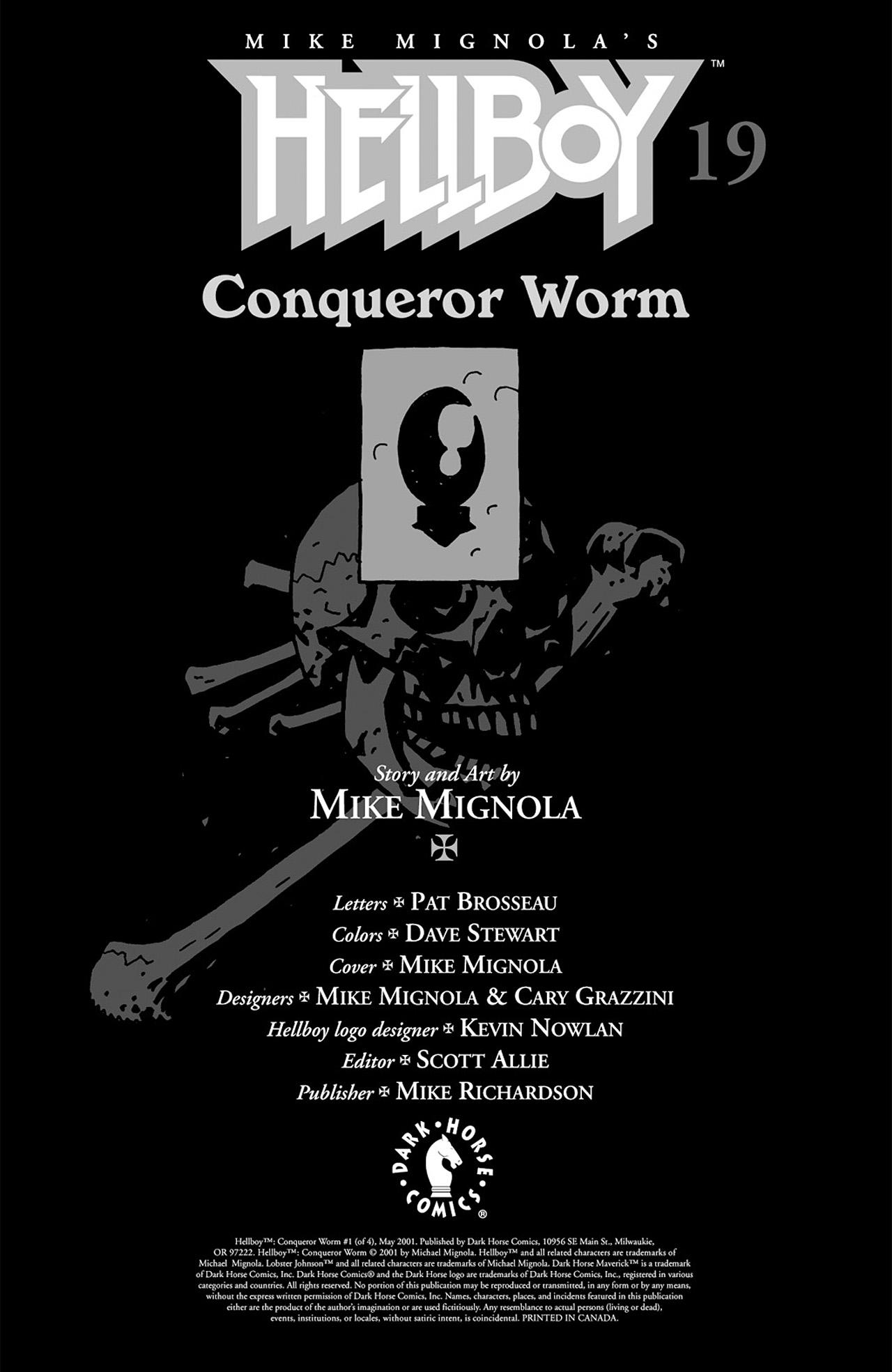 Read online Hellboy: Conqueror Worm comic -  Issue #3 - 2