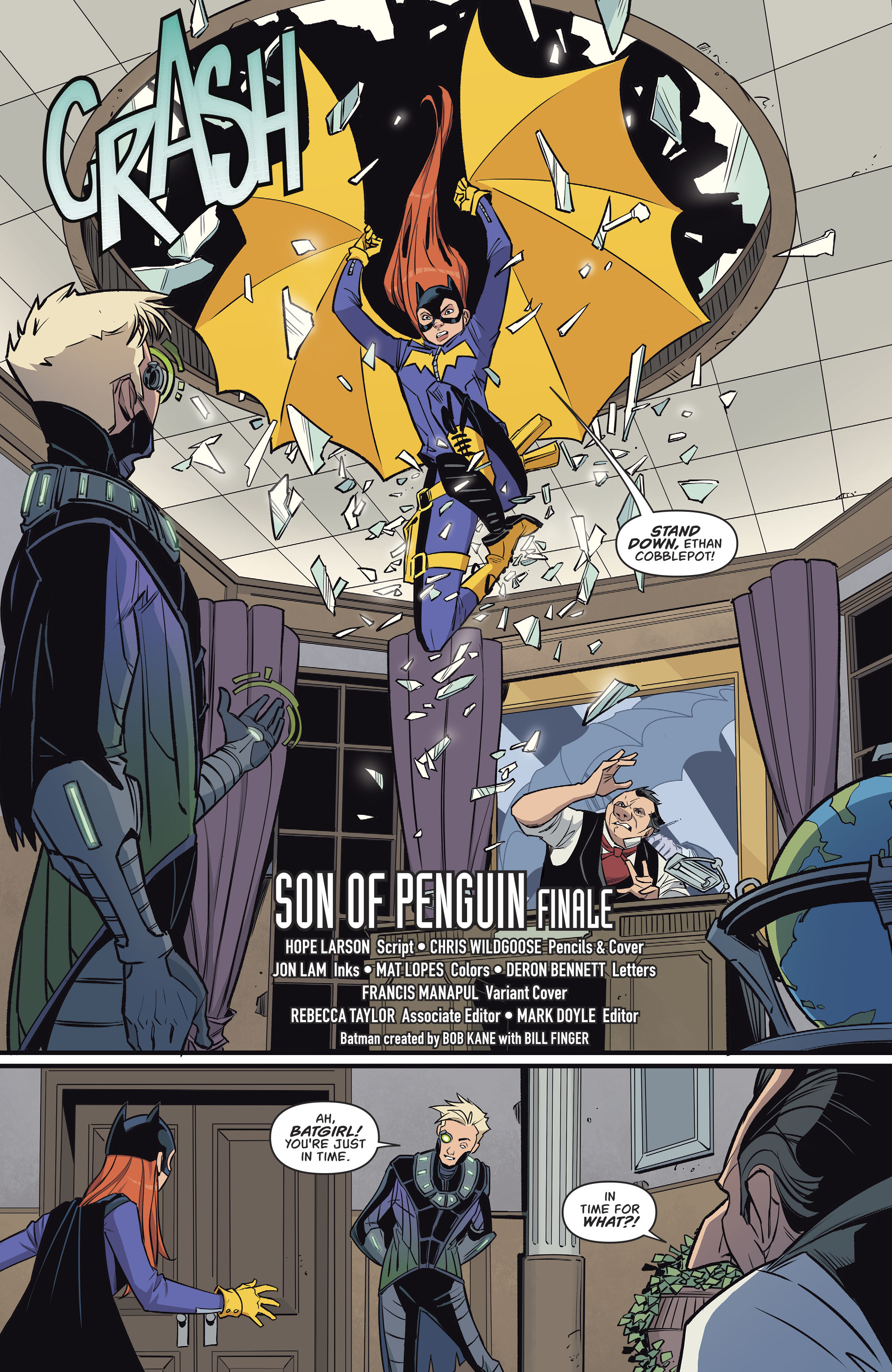 Read online Batgirl (2016) comic -  Issue #11 - 4