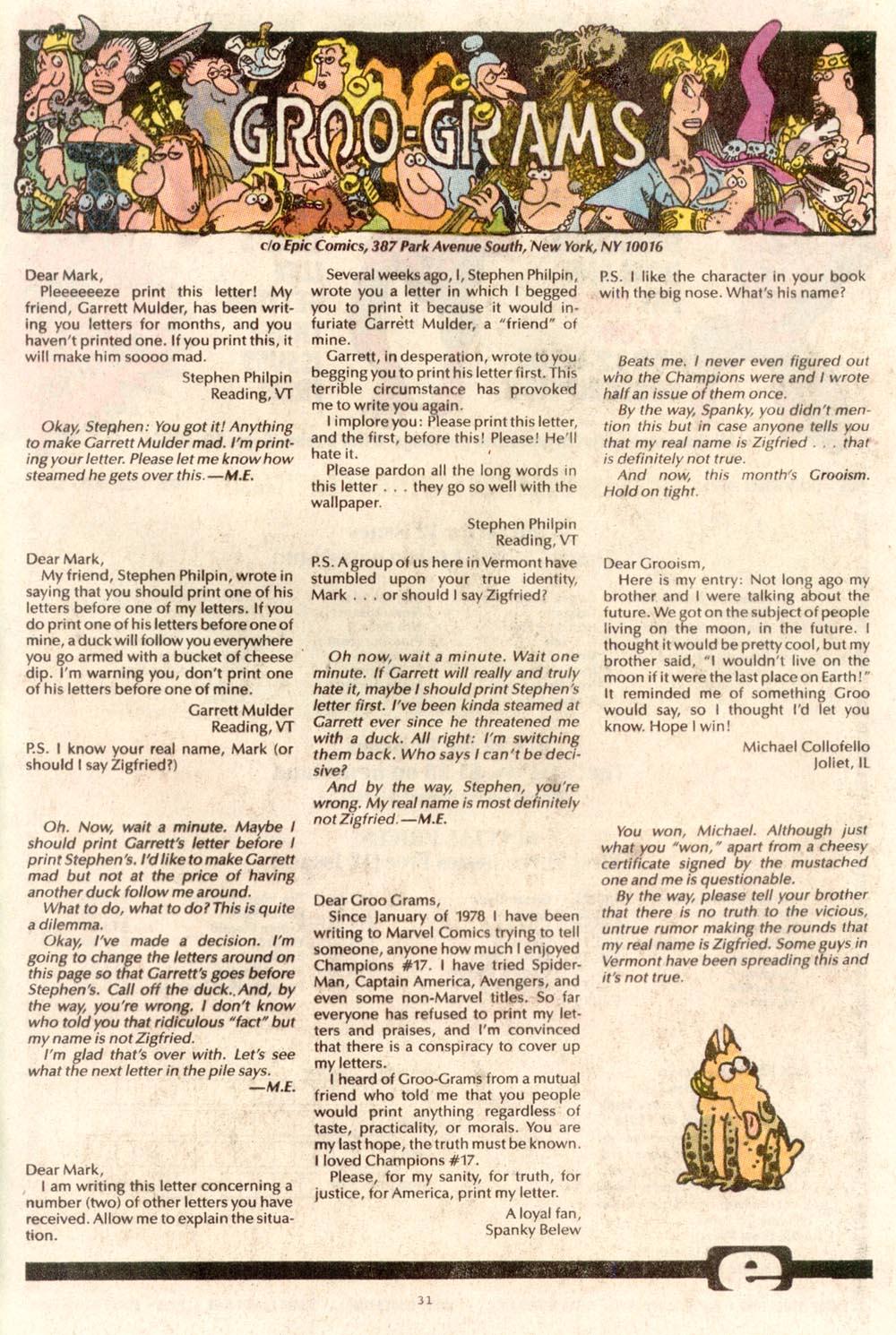 Read online Sergio Aragonés Groo the Wanderer comic -  Issue #67 - 24