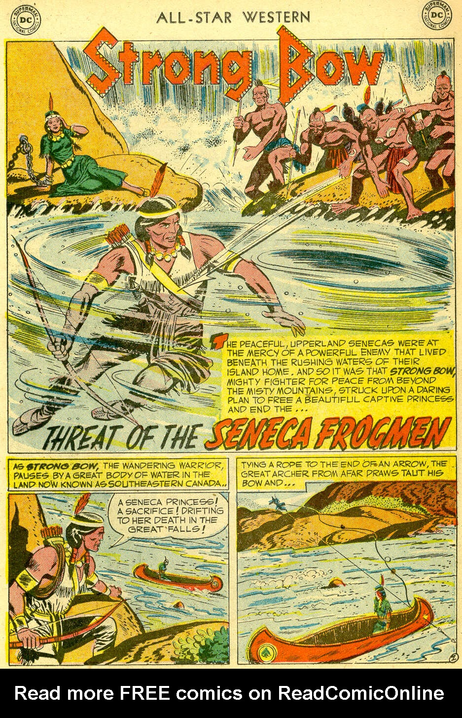 Read online All-Star Western (1951) comic -  Issue #68 - 11