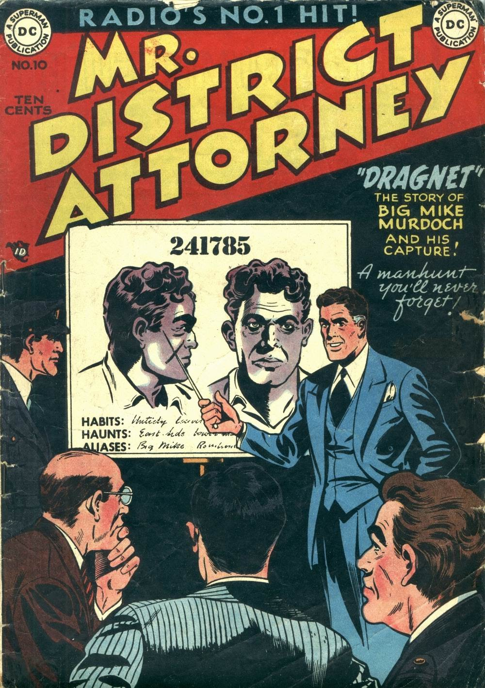 Mr. District Attorney issue 10 - Page 1