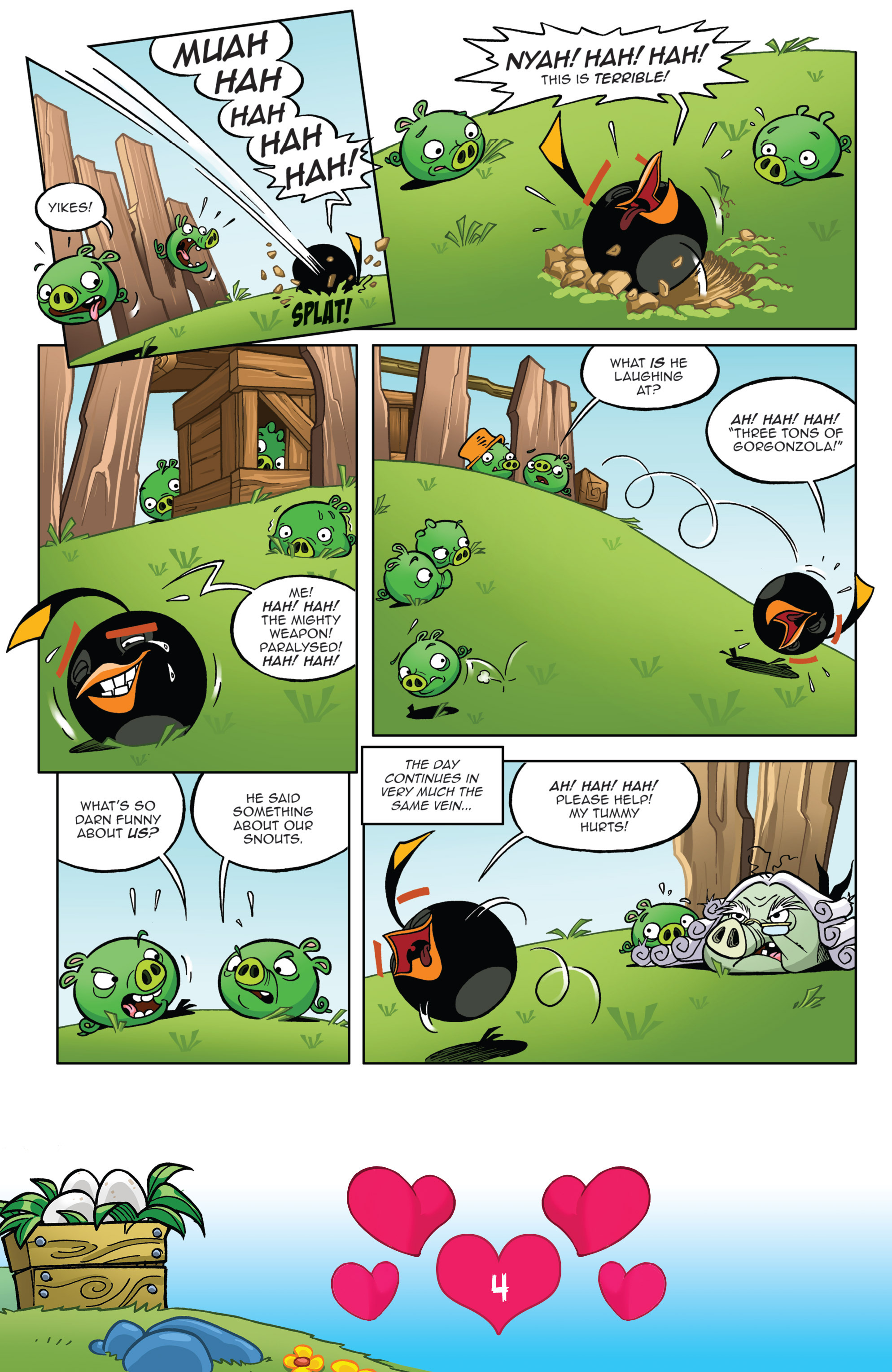 Read online Angry Birds Comics (2016) comic -  Issue #2 - 6