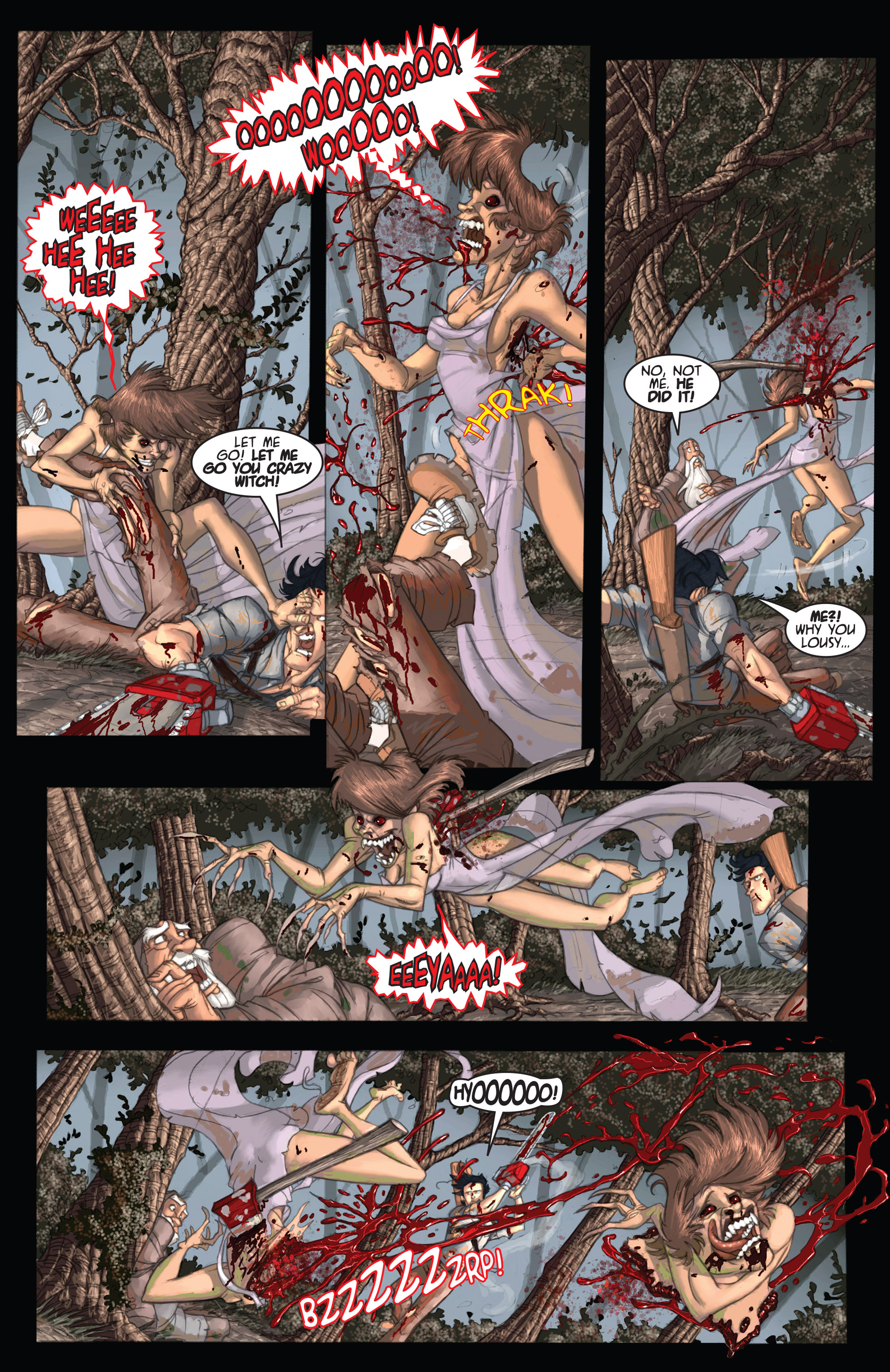 Read online Army of Darkness: Ashes 2 Ashes comic -  Issue #2 - 11