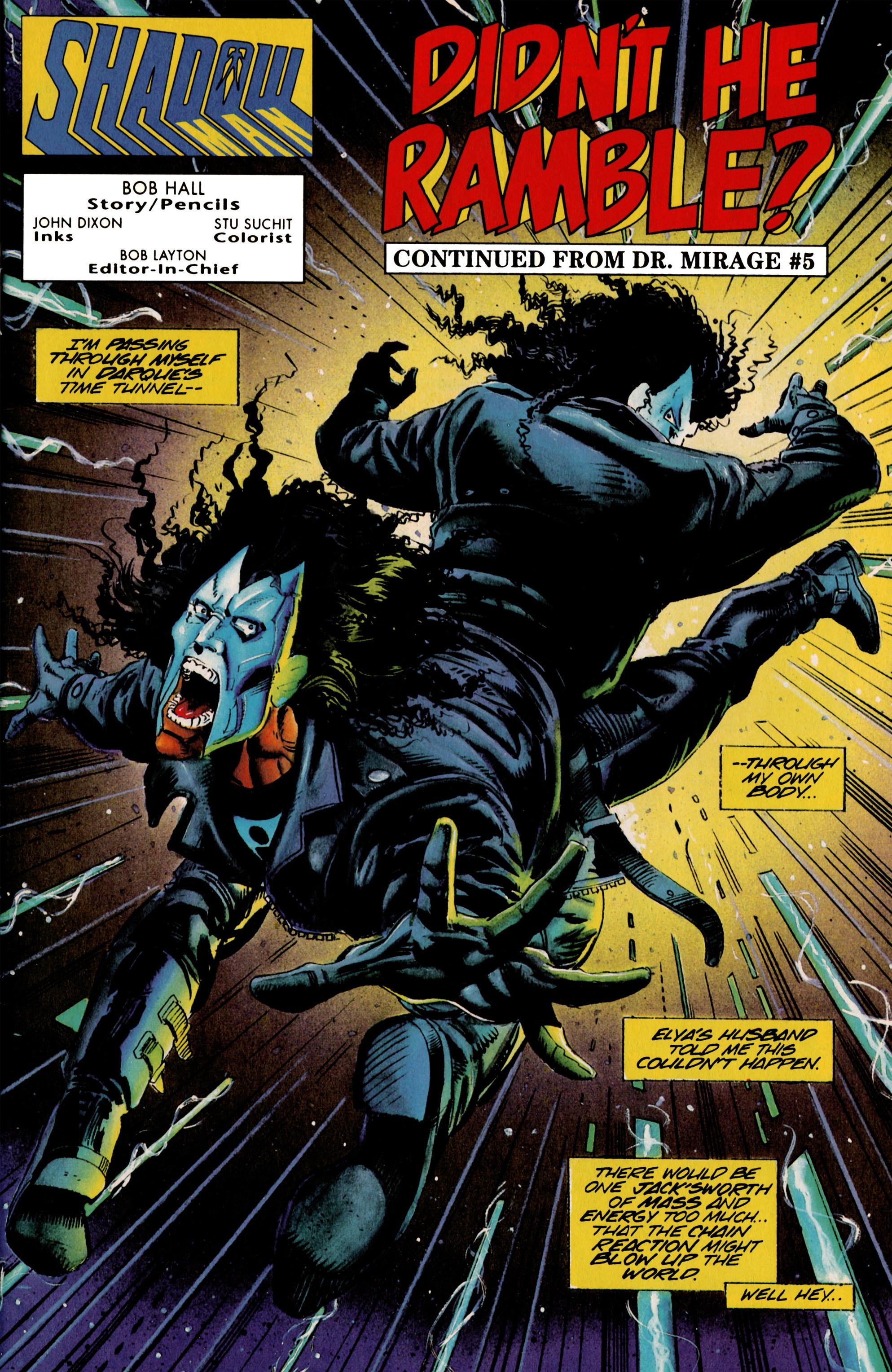 Read online Shadowman (1992) comic -  Issue #23 - 2