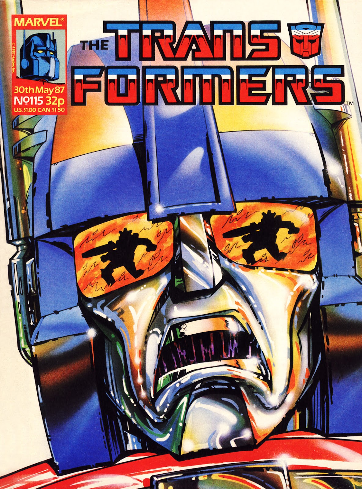 The Transformers (UK) 115 Page 1
