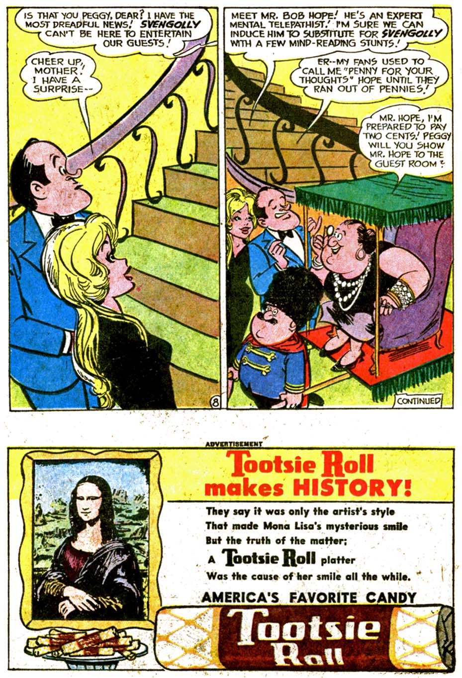 The Adventures of Bob Hope issue 77 - Page 10