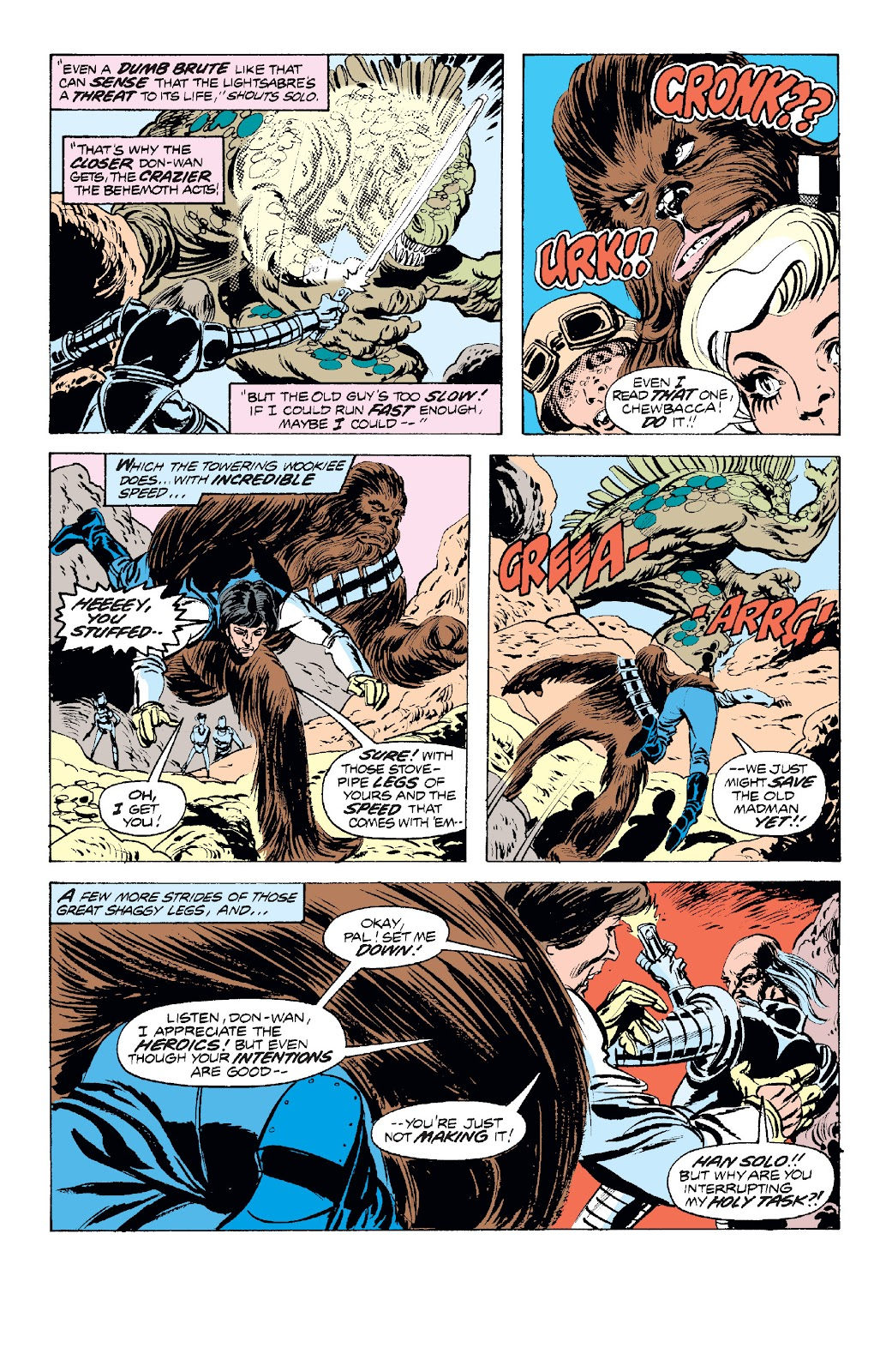 Read online Star Wars Legends: The Original Marvel Years - Epic Collection comic -  Issue # TPB 1 (Part 2) - 86