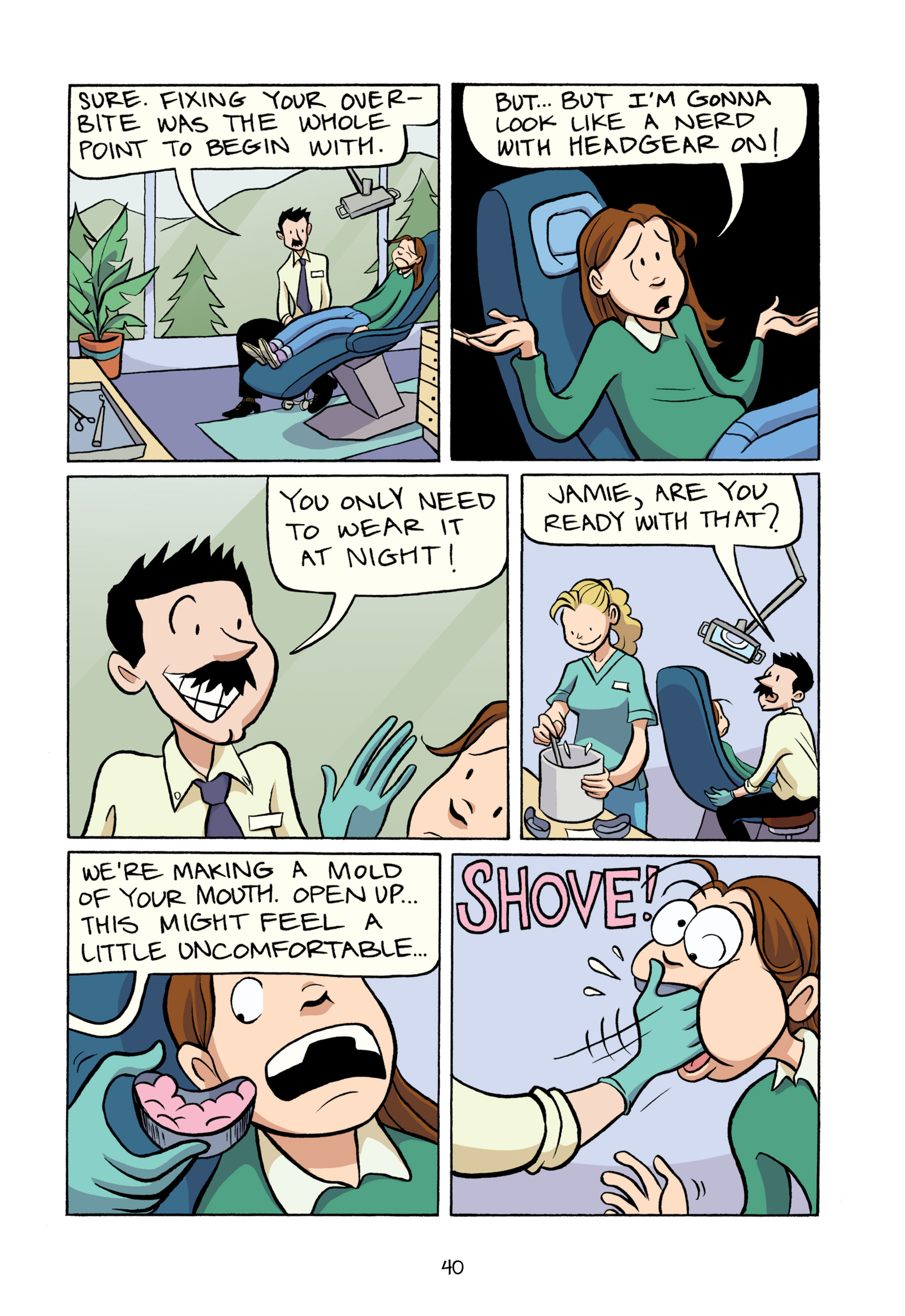Read online Smile comic -  Issue # TPB - 46