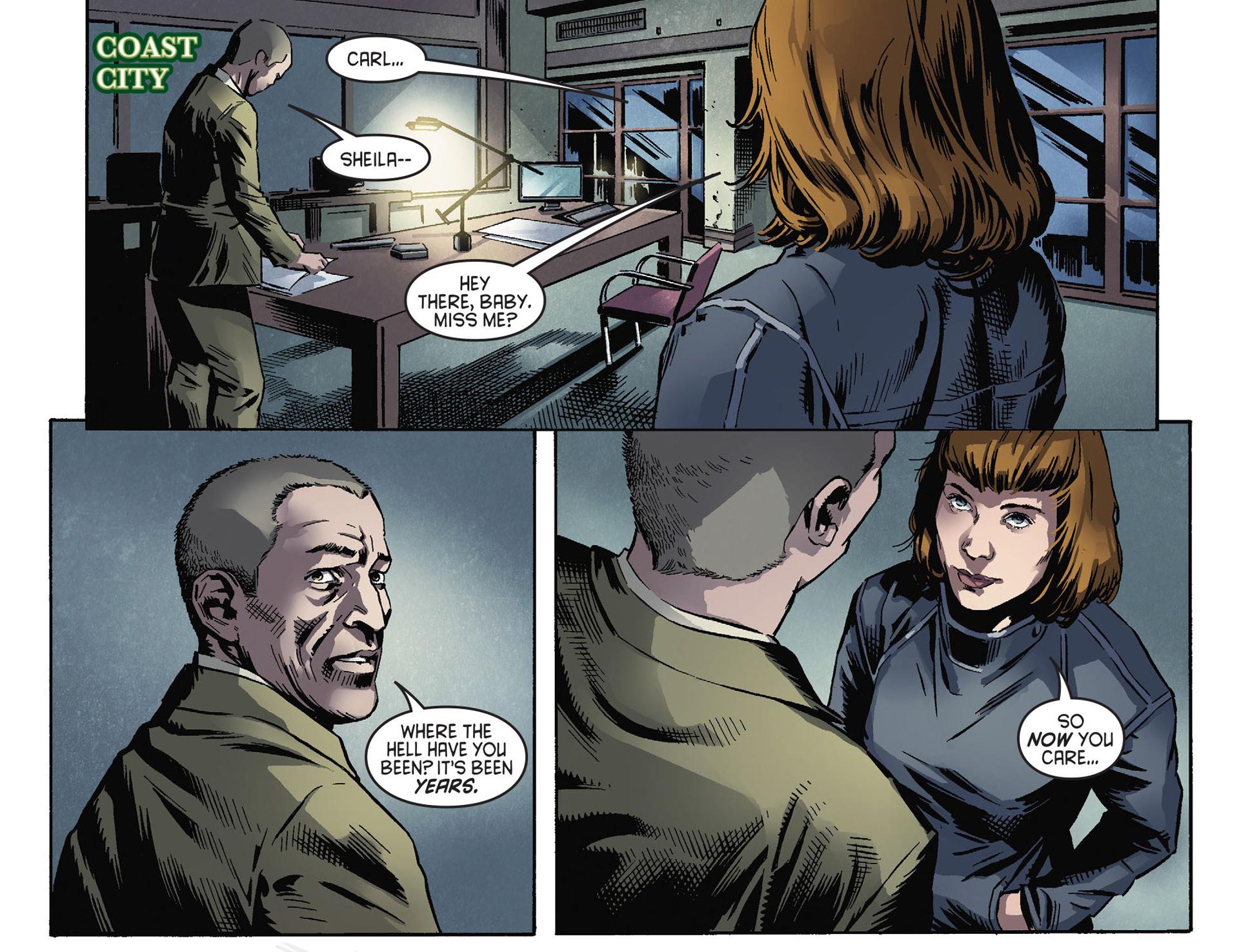 Read online Arrow [II] comic -  Issue #30 - 17
