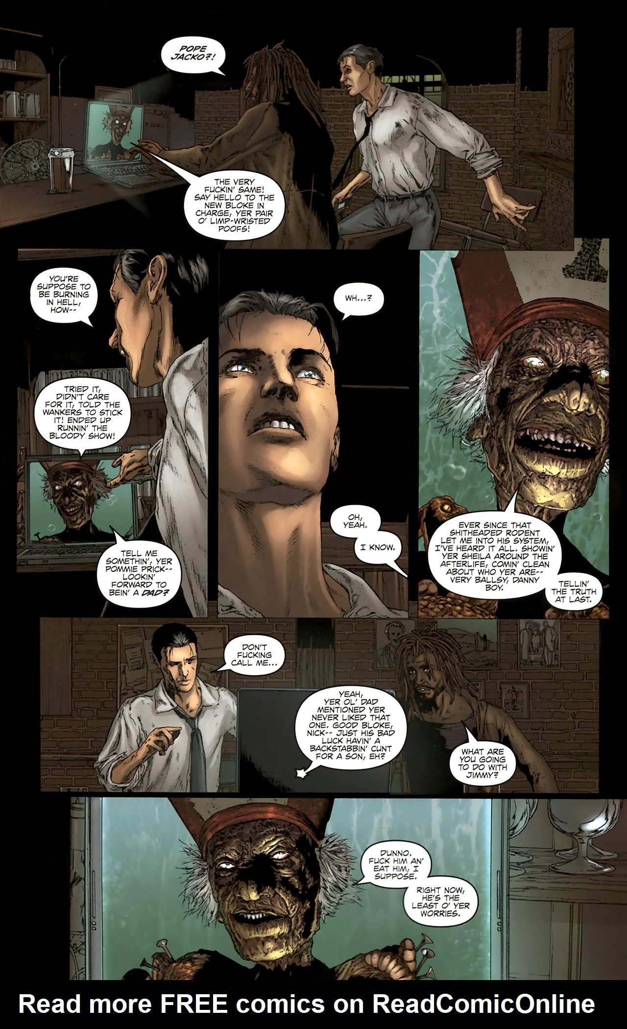 Read online Chronicles of Wormwood: The Last Battle comic -  Issue #5 - 14