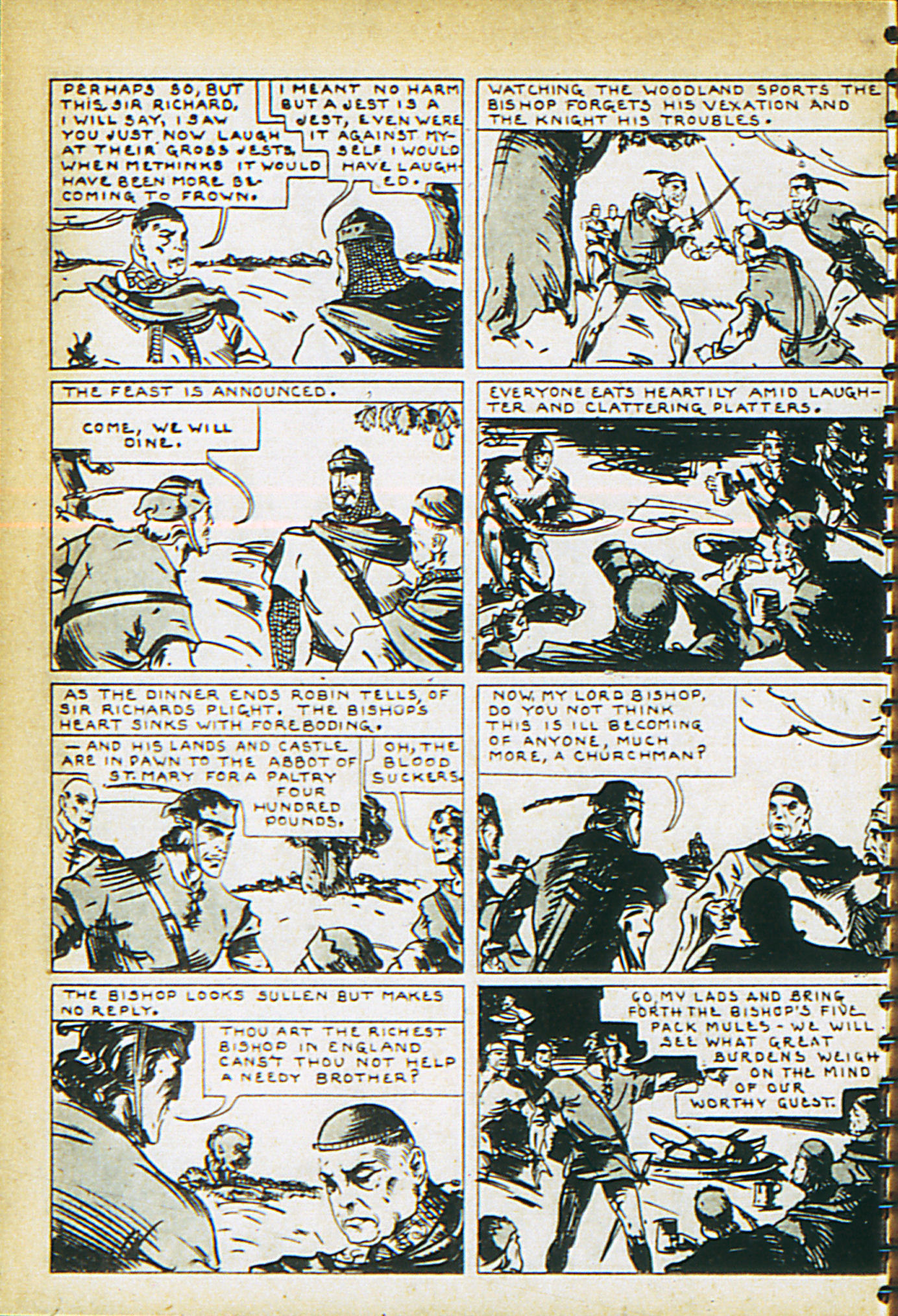Read online Adventure Comics (1938) comic -  Issue #29 - 49