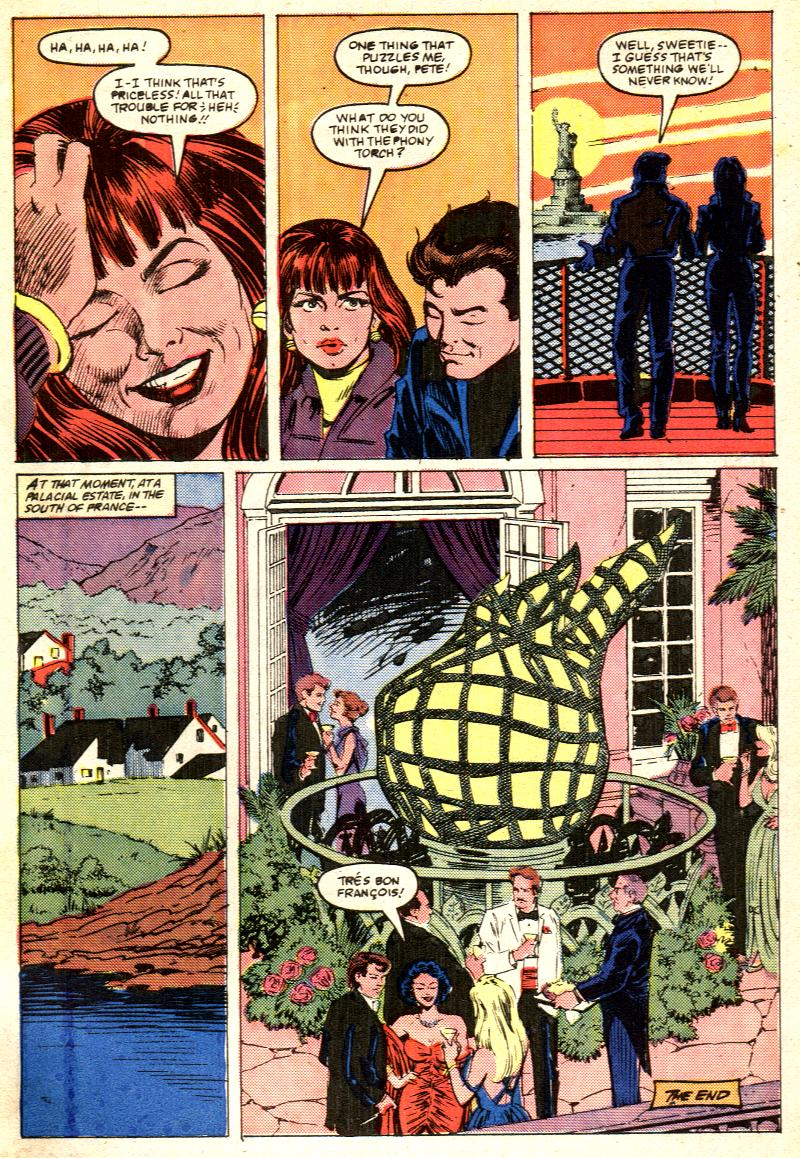 Web of Spider-Man (1985) Issue #28 #38 - English 25