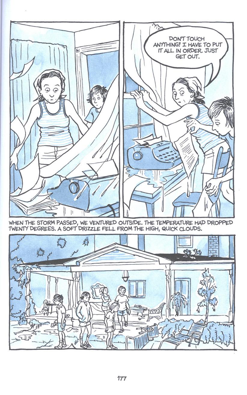 Read online Fun Home: A Family Tragicomic comic -  Issue # TPB - 183