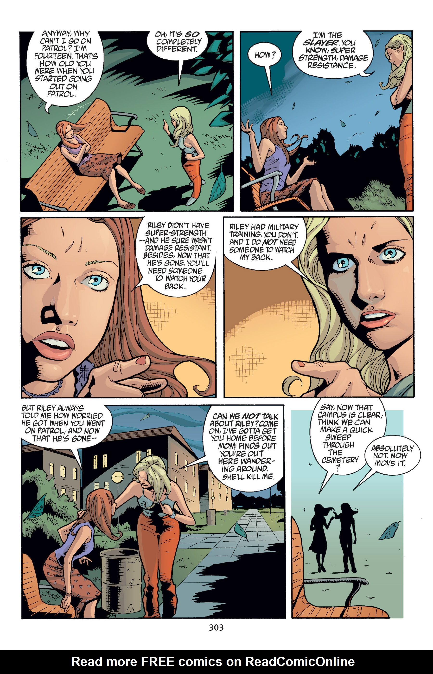 Read online Buffy the Vampire Slayer: Omnibus comic -  Issue # TPB 6 - 300