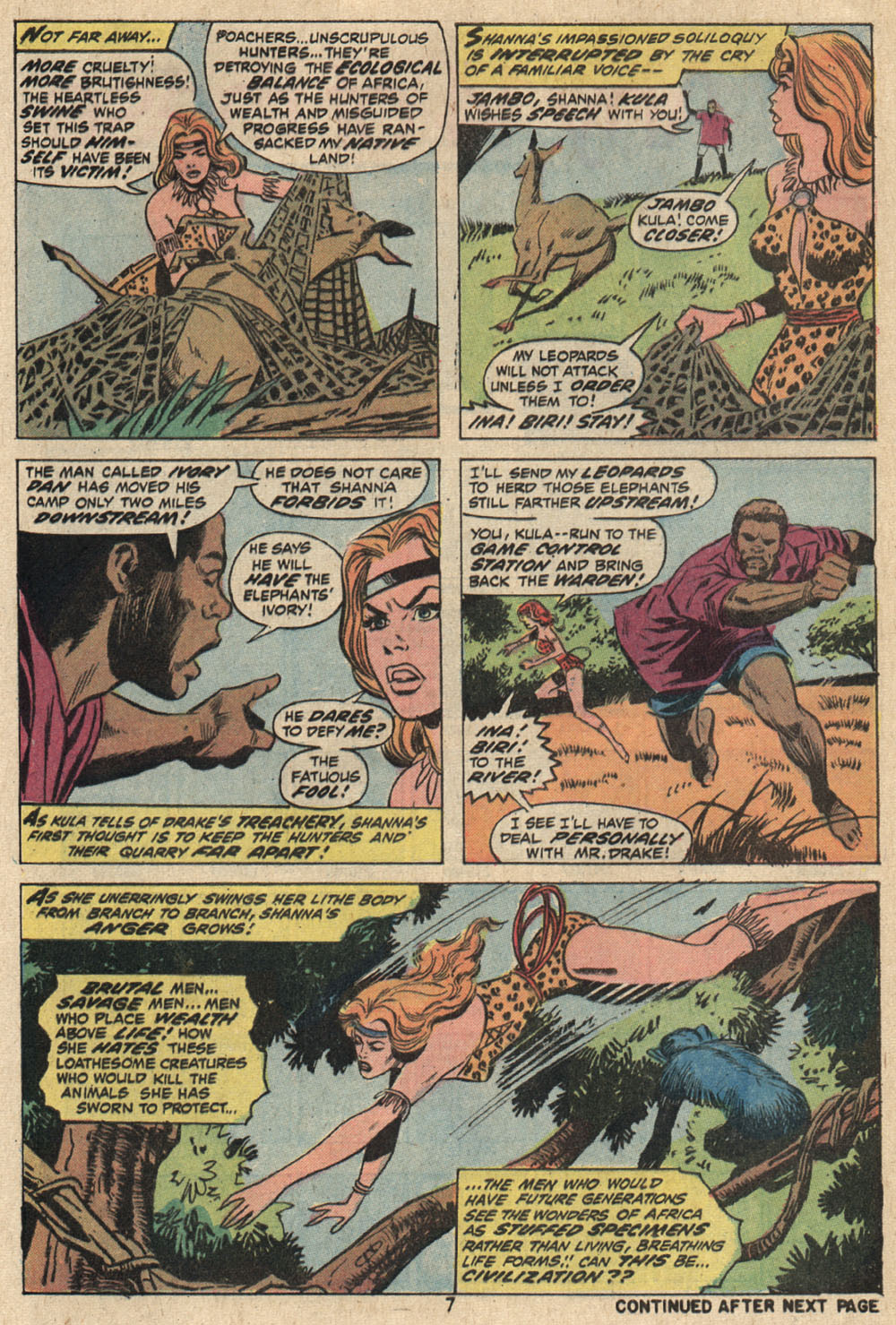 Read online Shanna, the She-Devil (1972) comic -  Issue #1 - 7