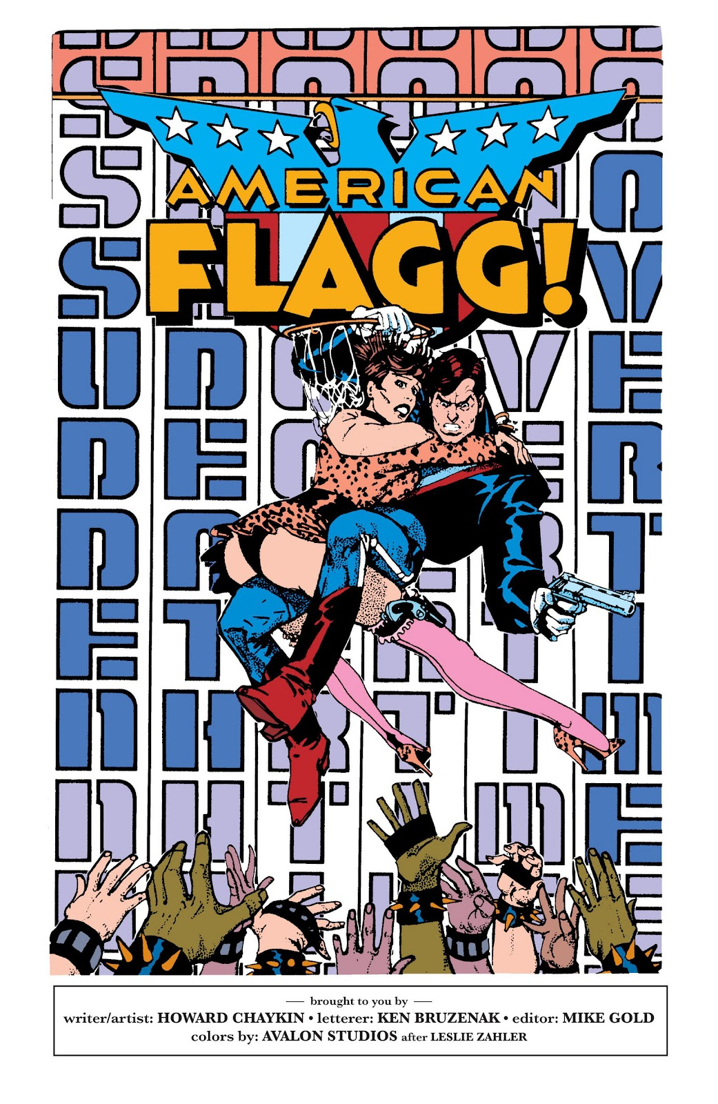 American Flagg! issue Definitive Collection (Part 2) - Page 46