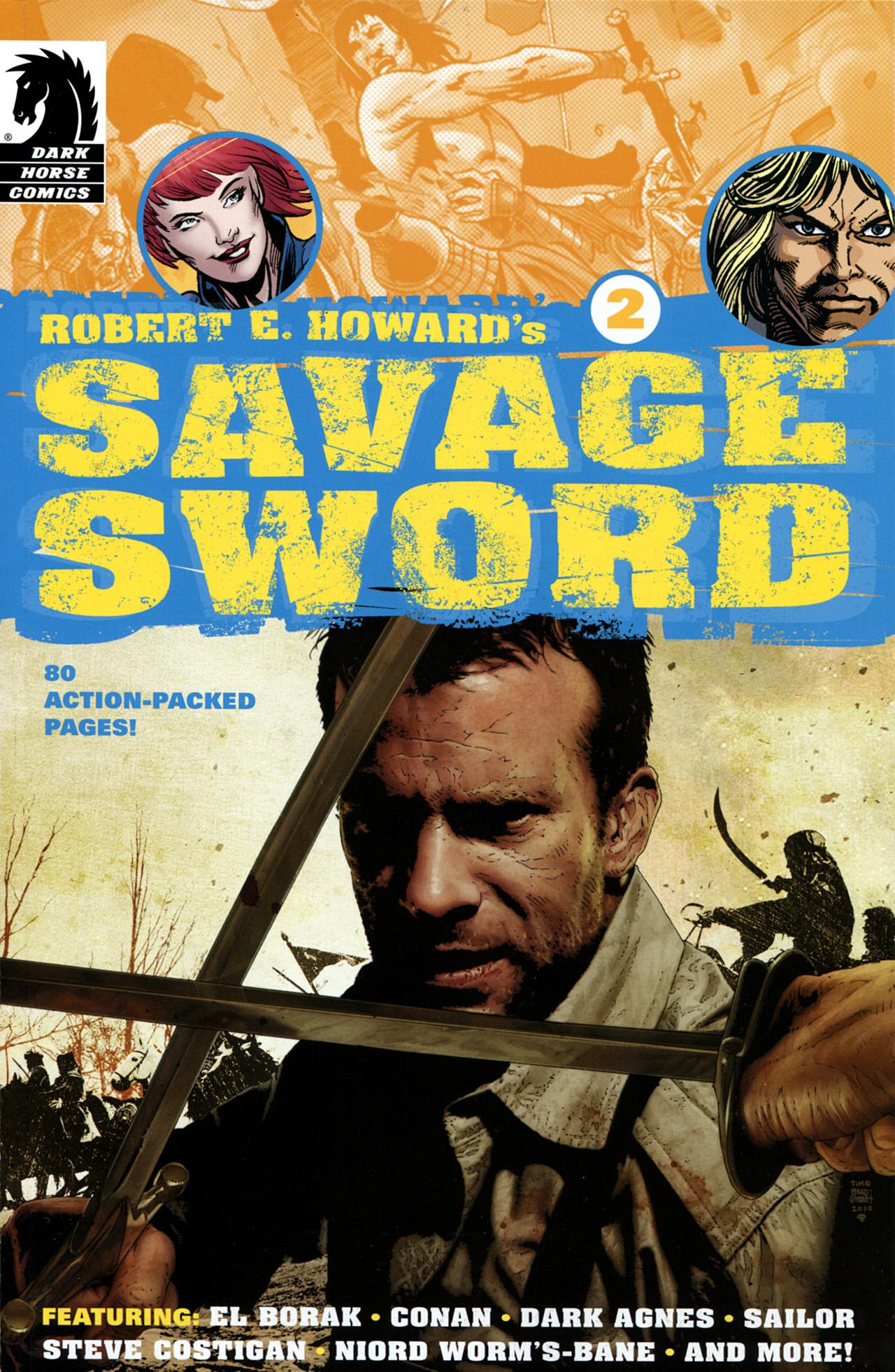 Robert E. Howards Savage Sword 2 Page 1