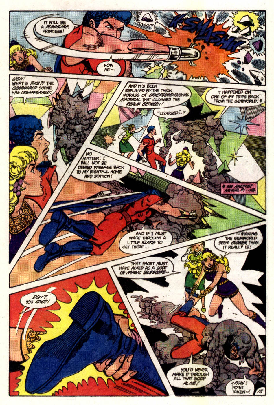 Read online Amethyst (1985) comic -  Issue #5 - 16