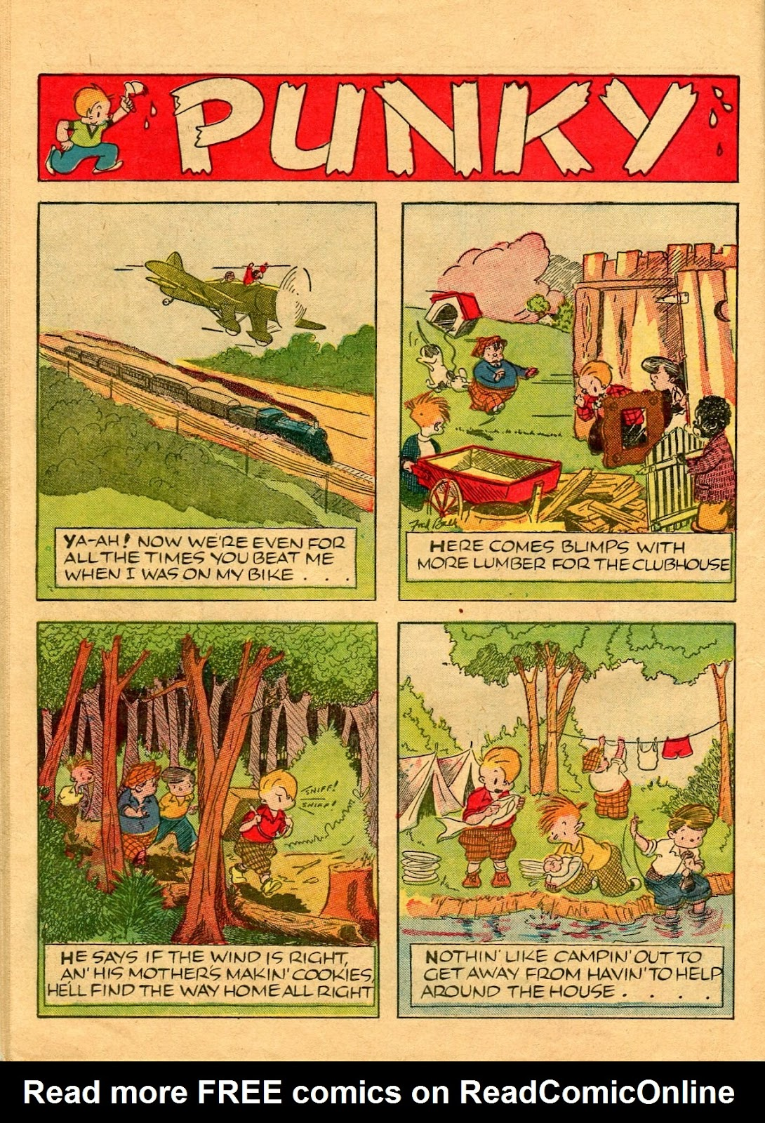 Read online Famous Funnies comic -  Issue #56 - 56