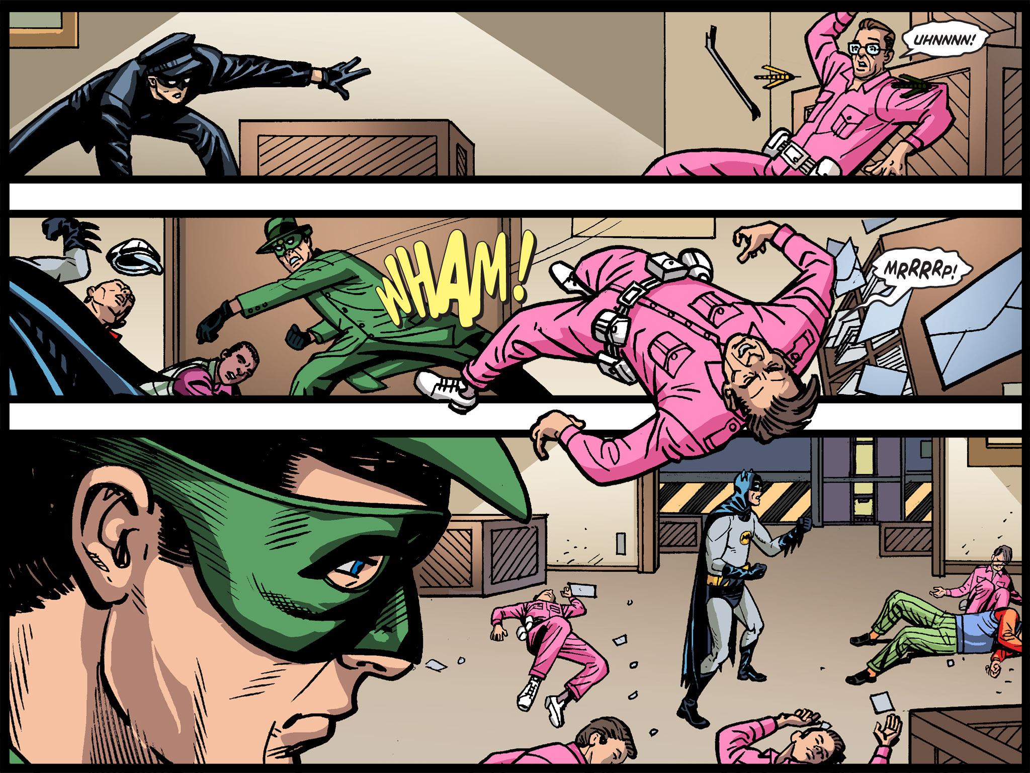 Read online Batman '66 Meets the Green Hornet [II] comic -  Issue #4 - 109