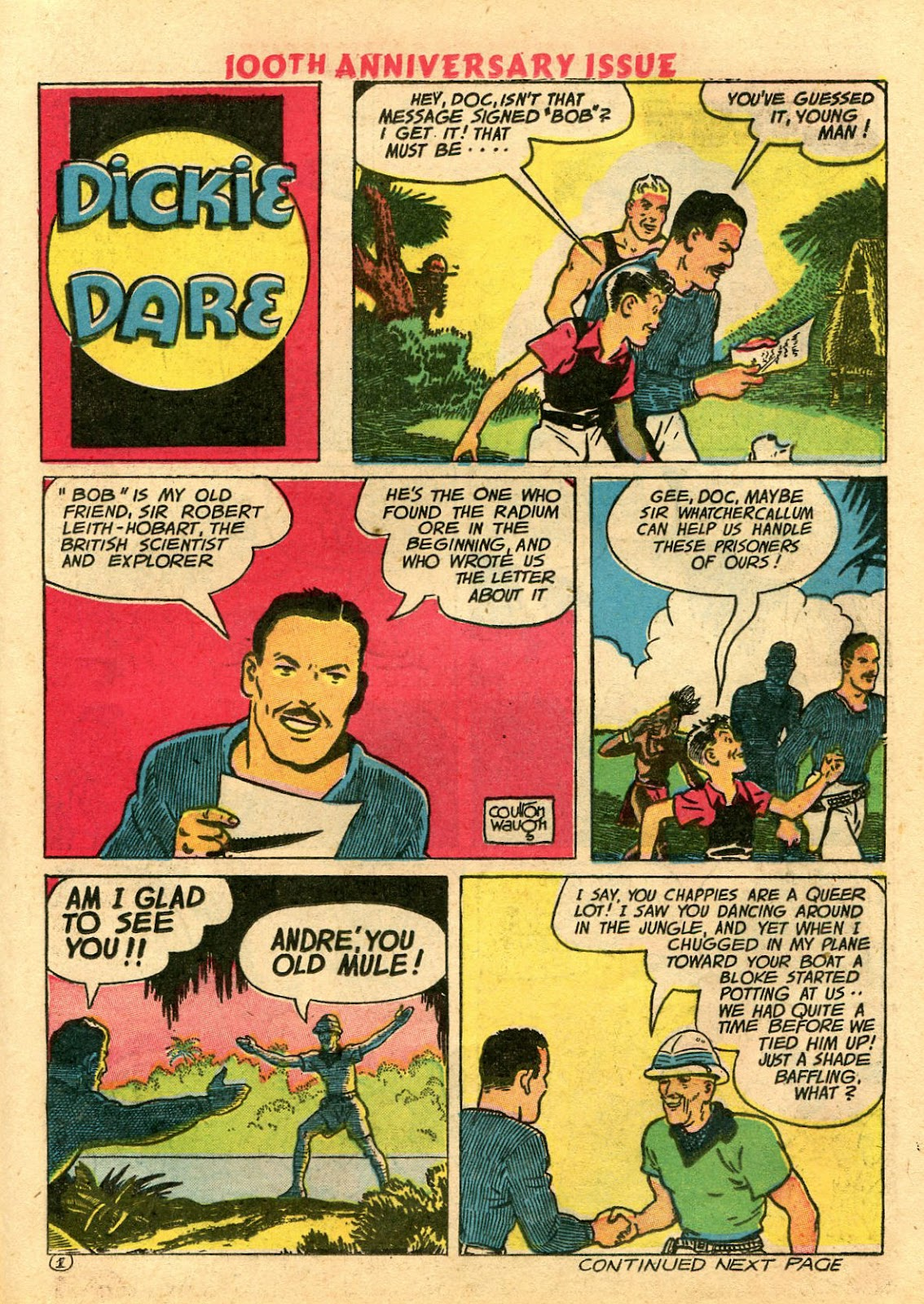 Read online Famous Funnies comic -  Issue #100 - 25