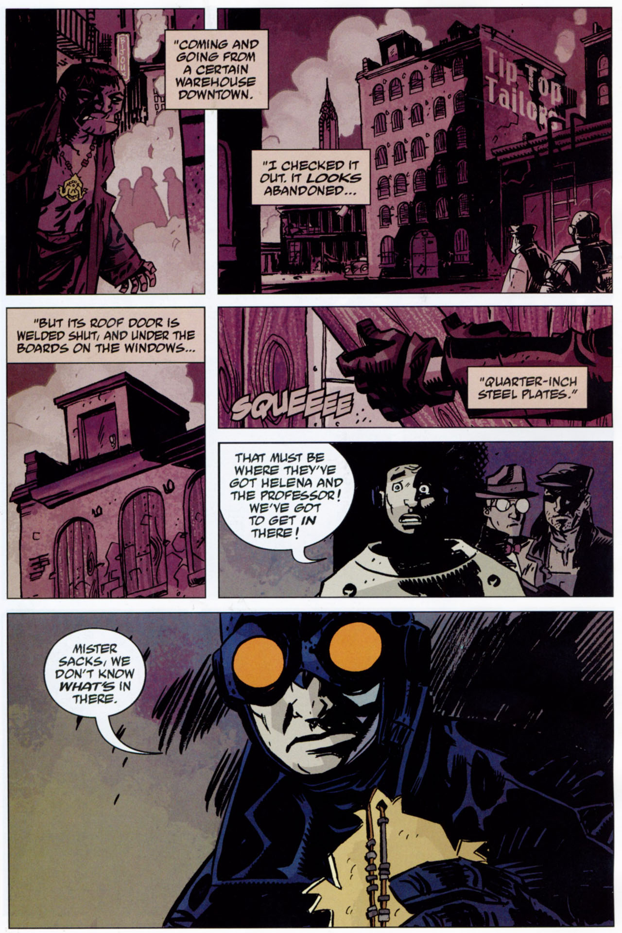 Read online Lobster Johnson: The Iron Prometheus comic -  Issue #1 - 24