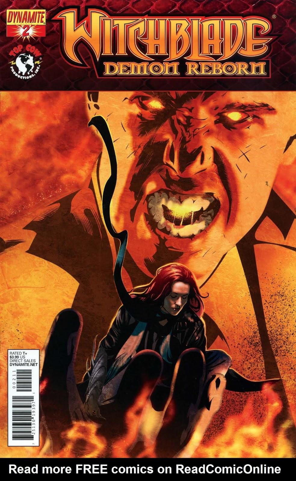 Witchblade: Demon Reborn 2 Page 1