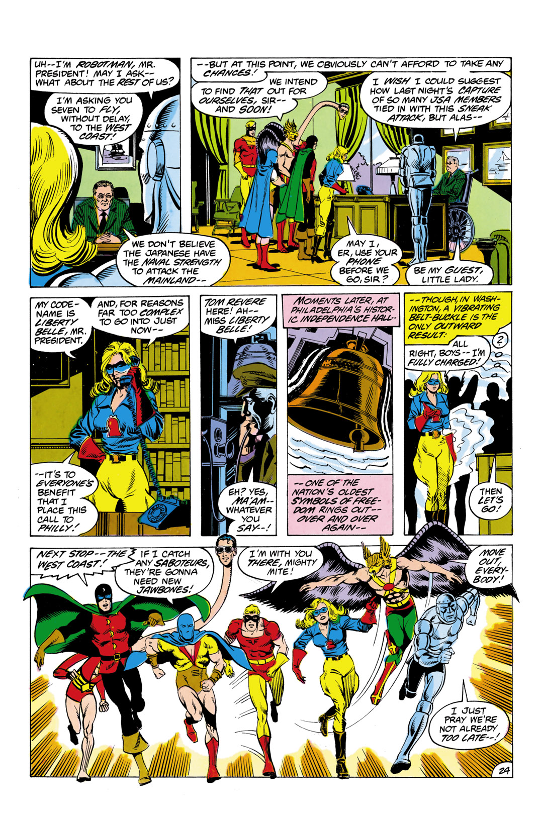 Read online All-Star Squadron comic -  Issue #1 - 25