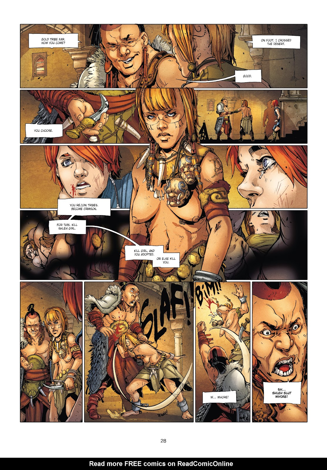 Read online Chronicles of the Dragon Knights comic -  Issue #20 - 28