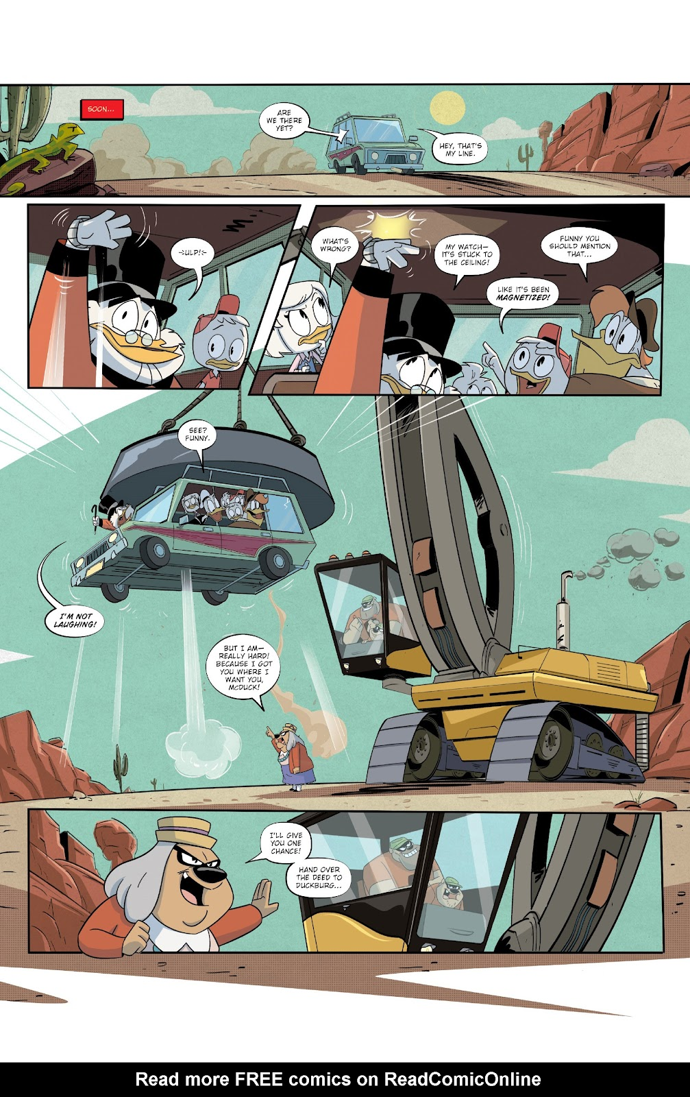 Read online Ducktales (2017) comic -  Issue #19 - 14