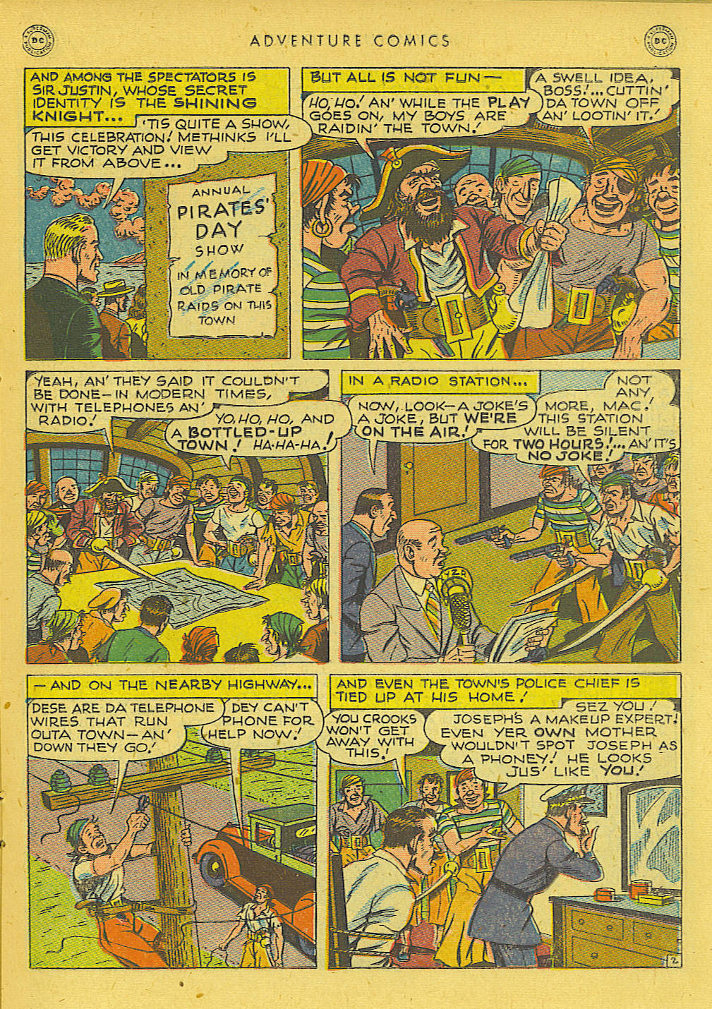 Read online Adventure Comics (1938) comic -  Issue #131 - 19