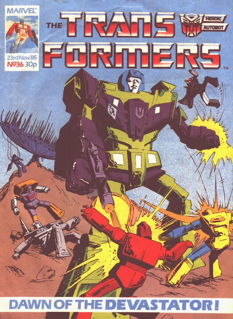 The Transformers (UK) 36 Page 1