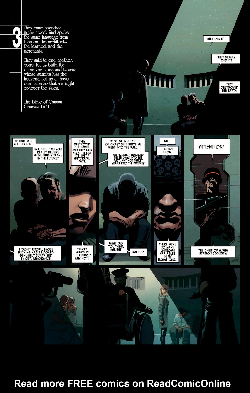 Read online Universal War One: Revelations comic -  Issue #2 - 21