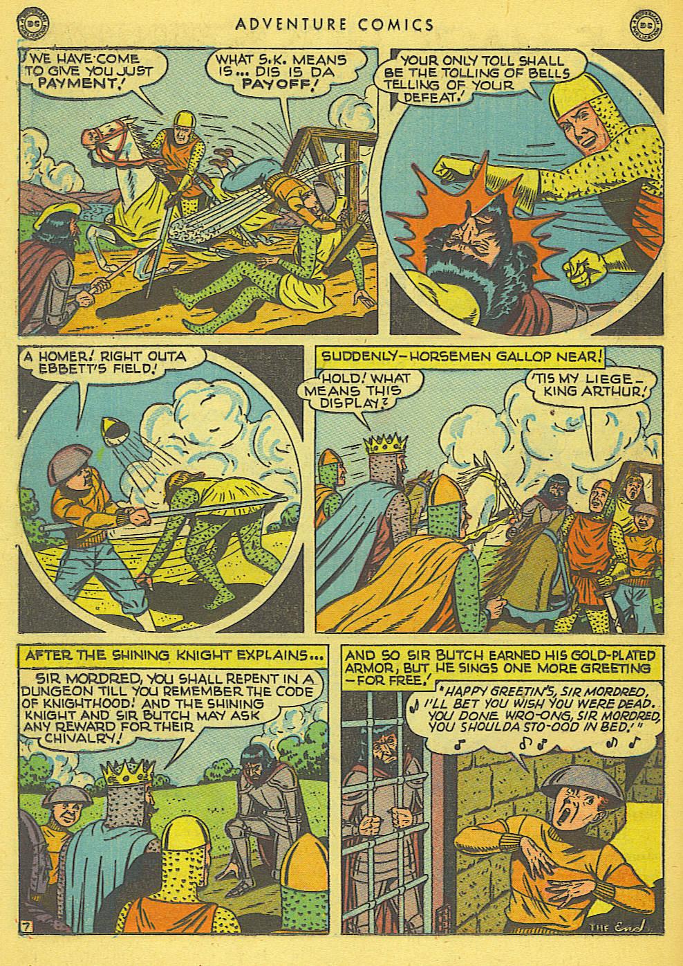 Read online Adventure Comics (1938) comic -  Issue #138 - 38