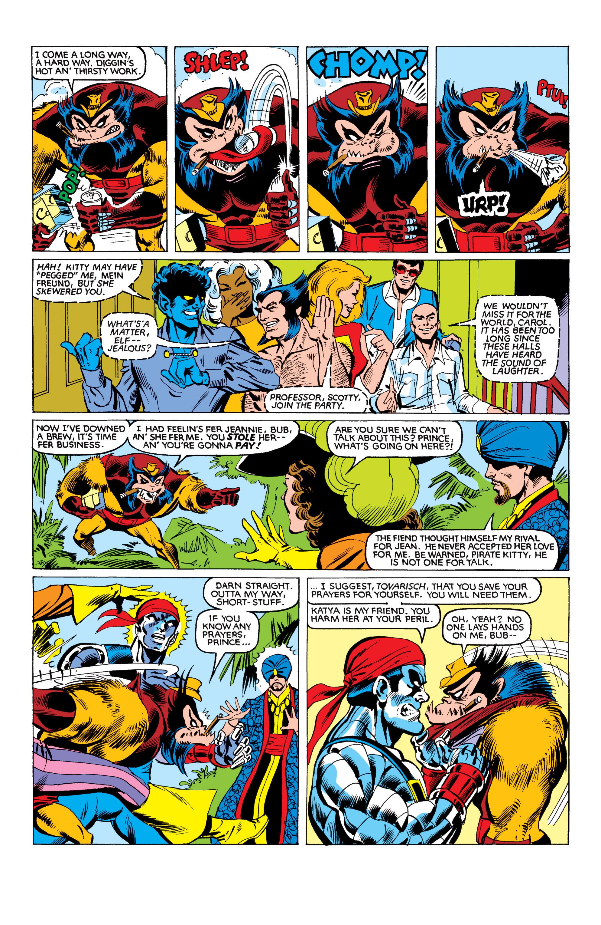 Read online Uncanny X-Men (1963) comic -  Issue #153 - 16