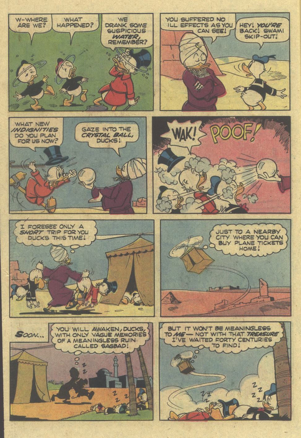 Read online Uncle Scrooge (1953) comic -  Issue #145 - 22