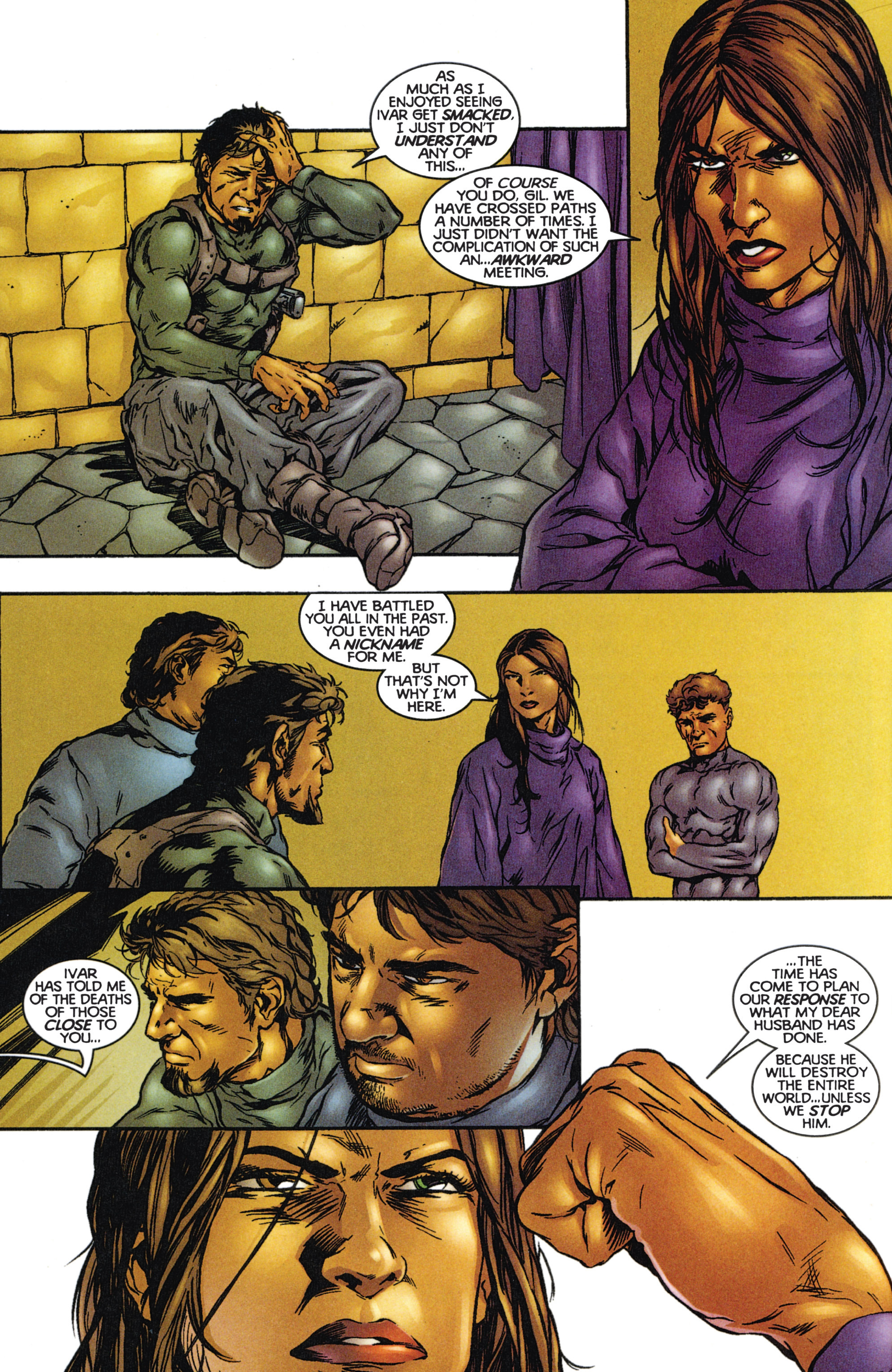 Read online Eternal Warriors comic -  Issue # Issue The Immortal Enemy - 20