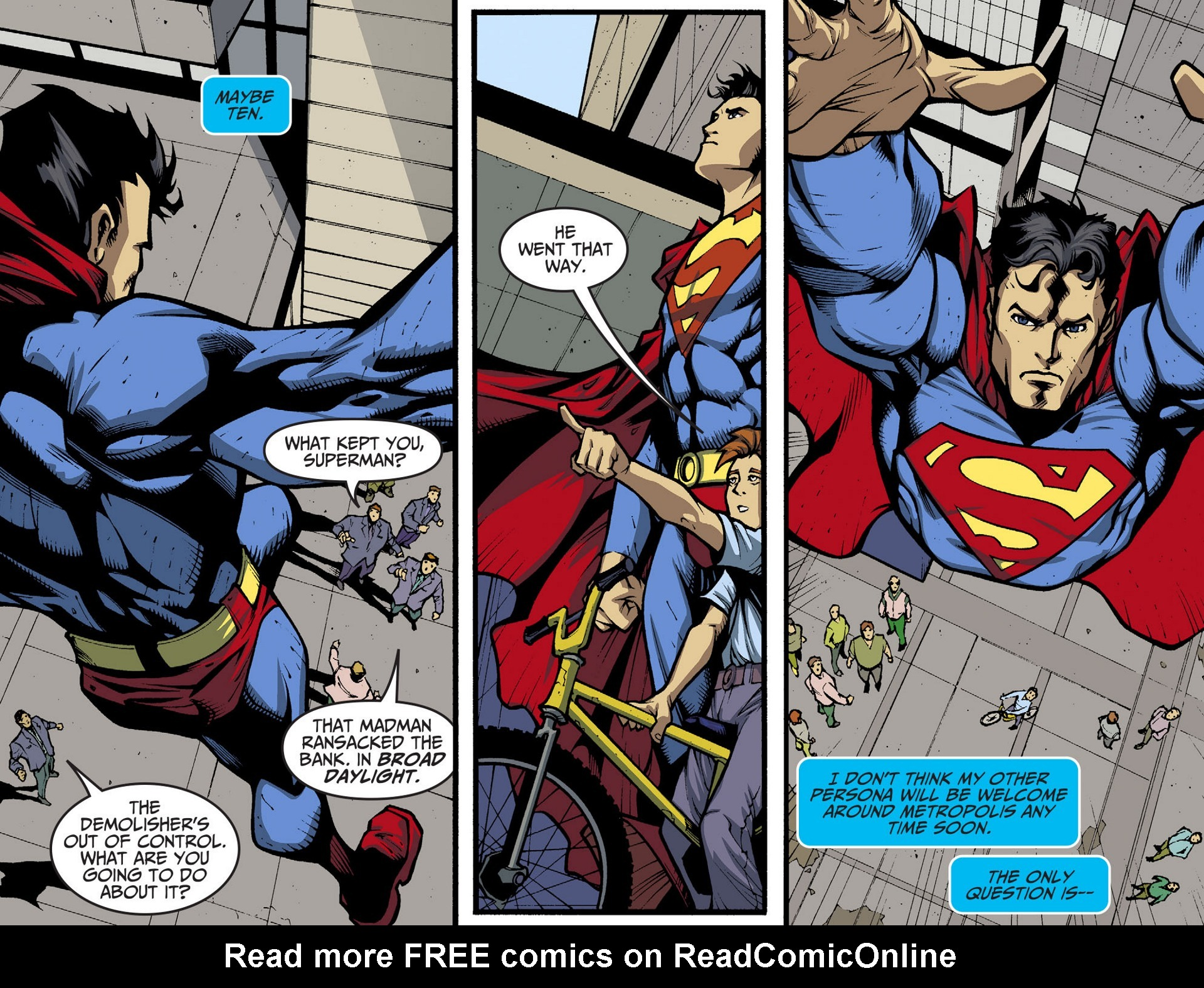 Read online Adventures of Superman [I] comic -  Issue #36 - 15