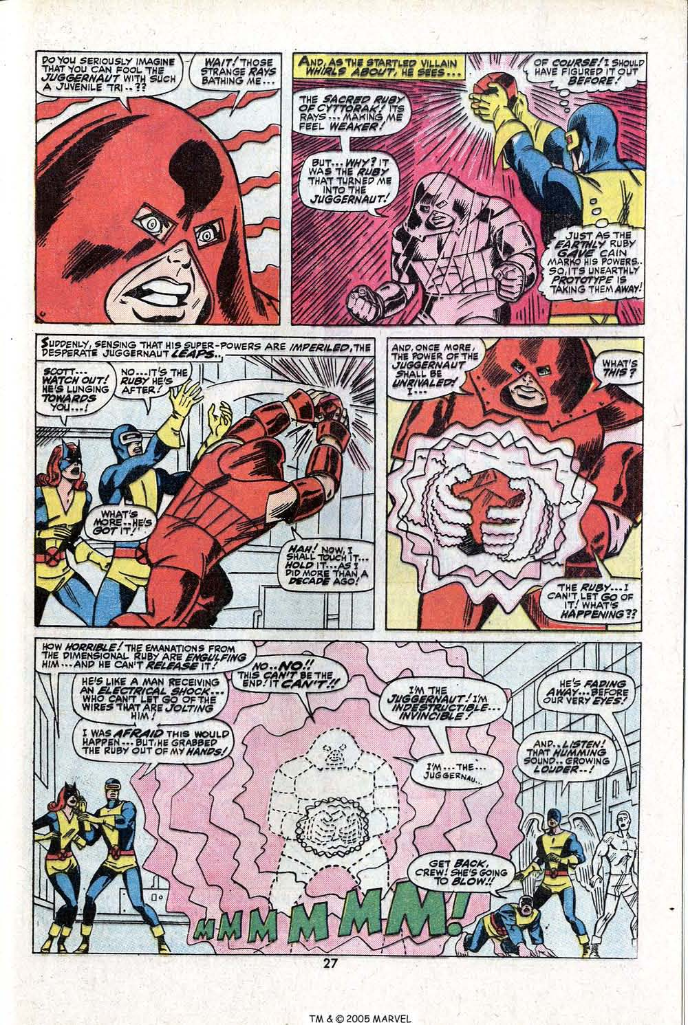 Read online Uncanny X-Men (1963) comic -  Issue #81 - 29