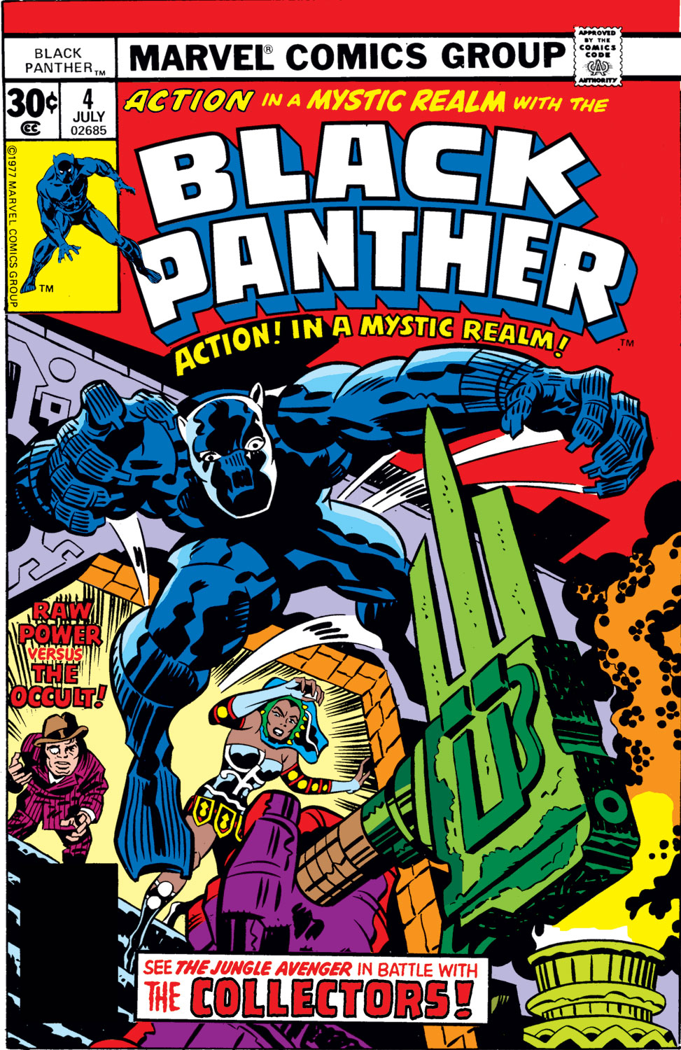 Black Panther (1977) issue 4 - Page 1